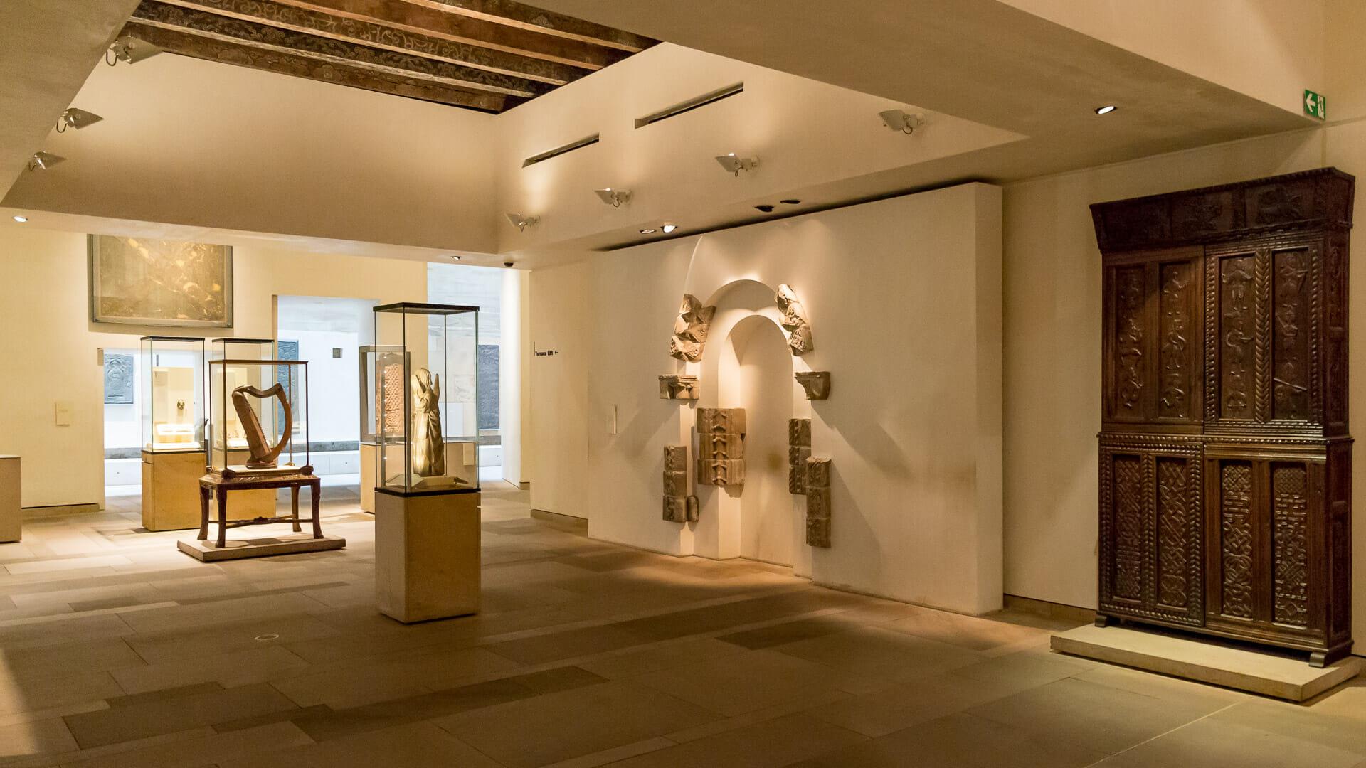 Ausstellungsraum im neuen Gebäude