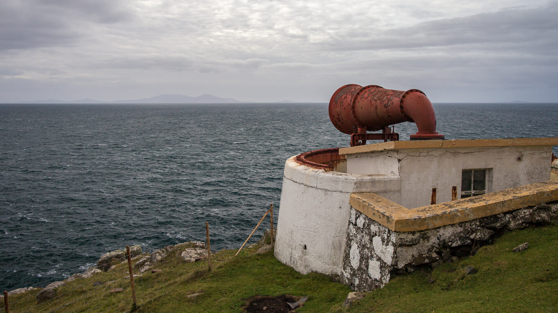 Nebelhorn des Neist Point