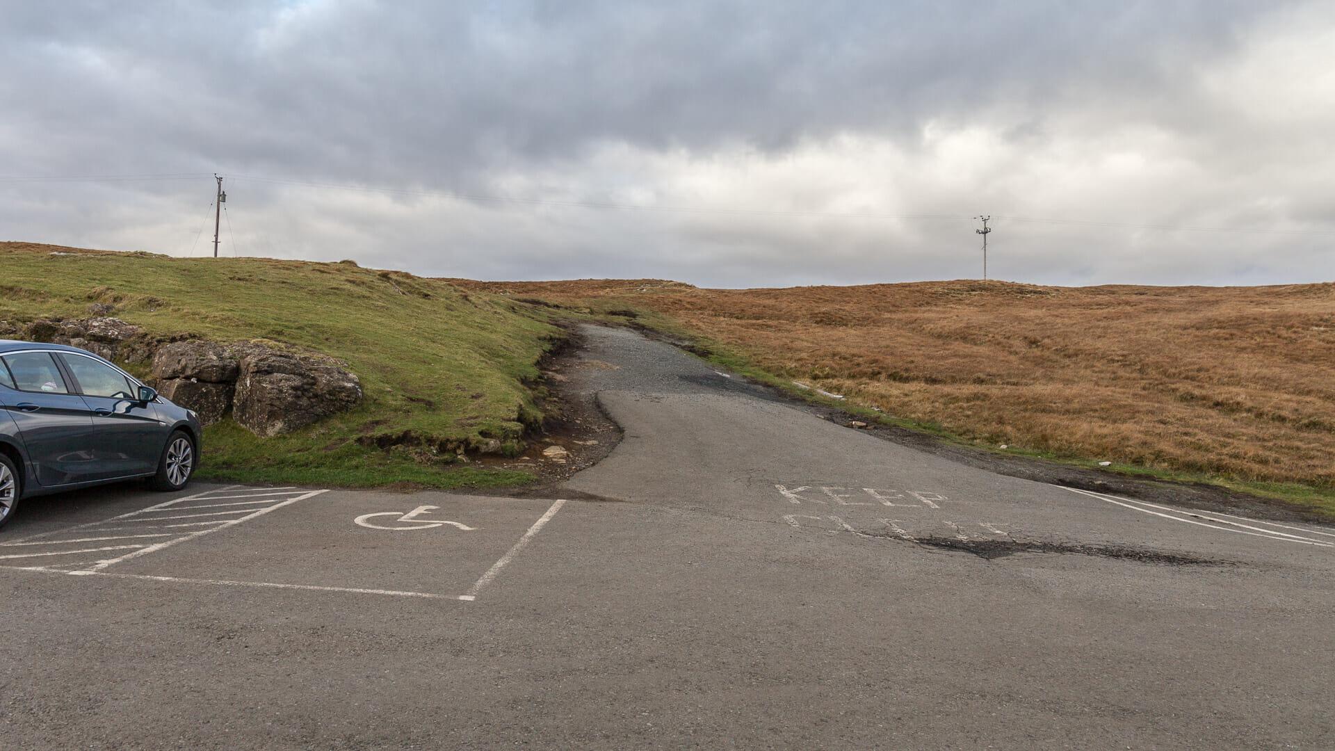 Der Weg ins Mointeach nan Tarbh
