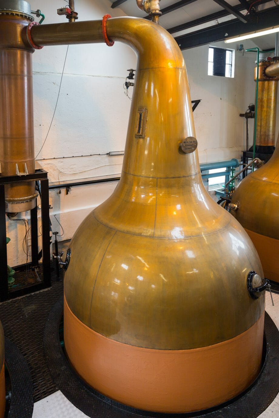 Wash-Still bei Bowmore