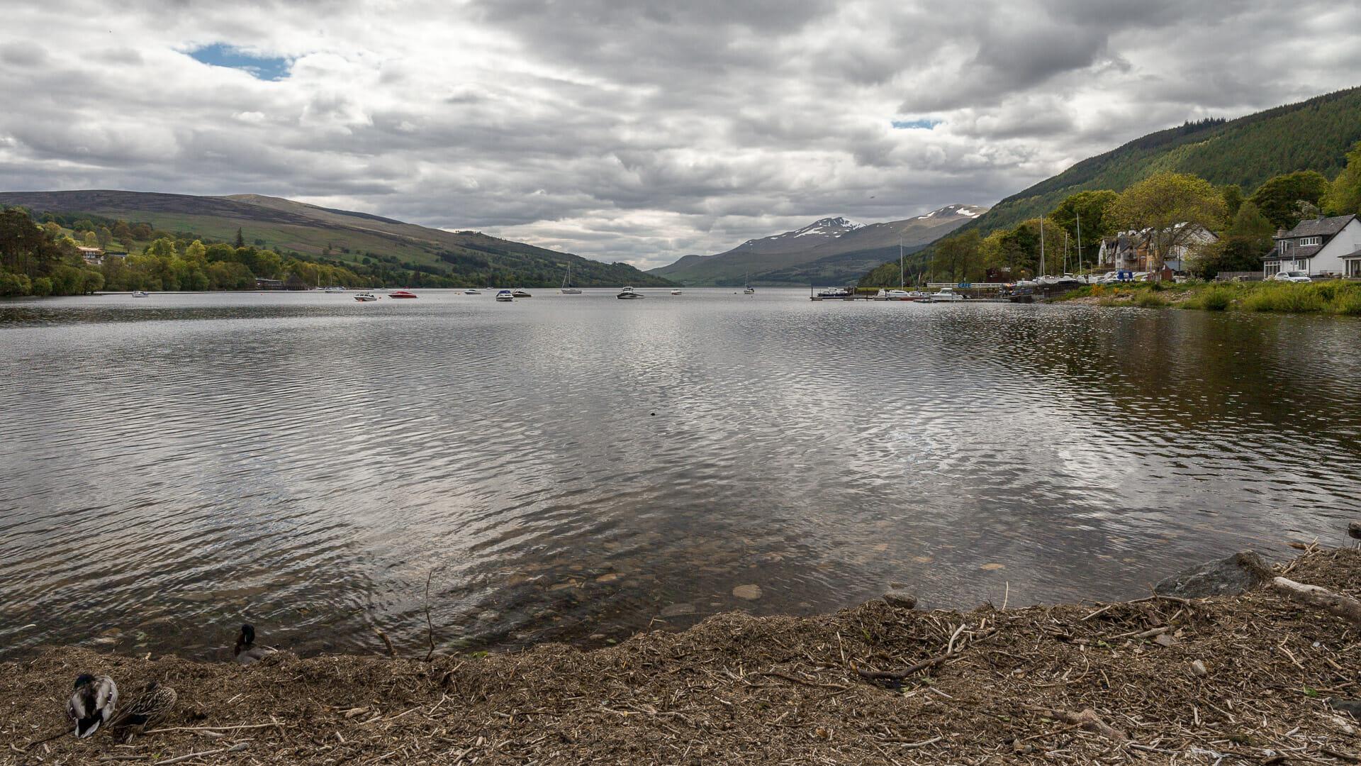 Blick auf Loch Tay