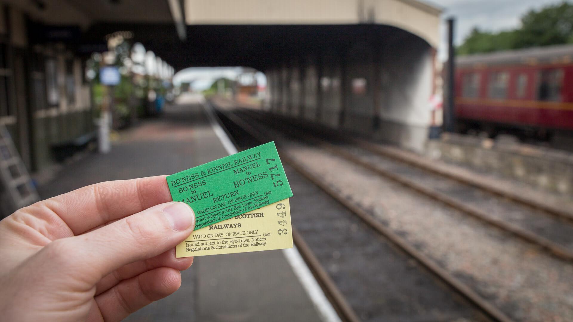 Tickets nach Manuel