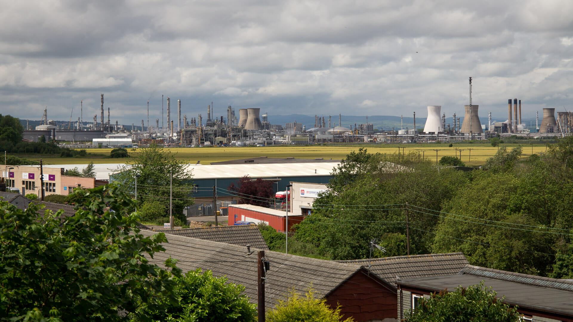 Grangemouth Ölraffinerie