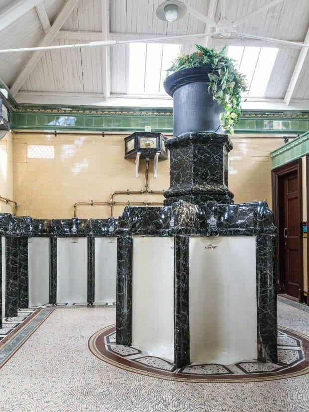 Viktorianische Toiletten Rothesay