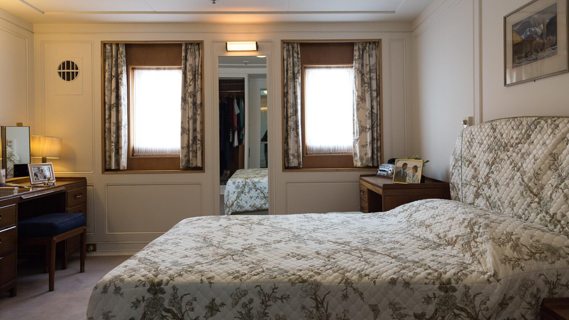 Die Suite, in der Charles und Diana die Flitterwochen verbrachten