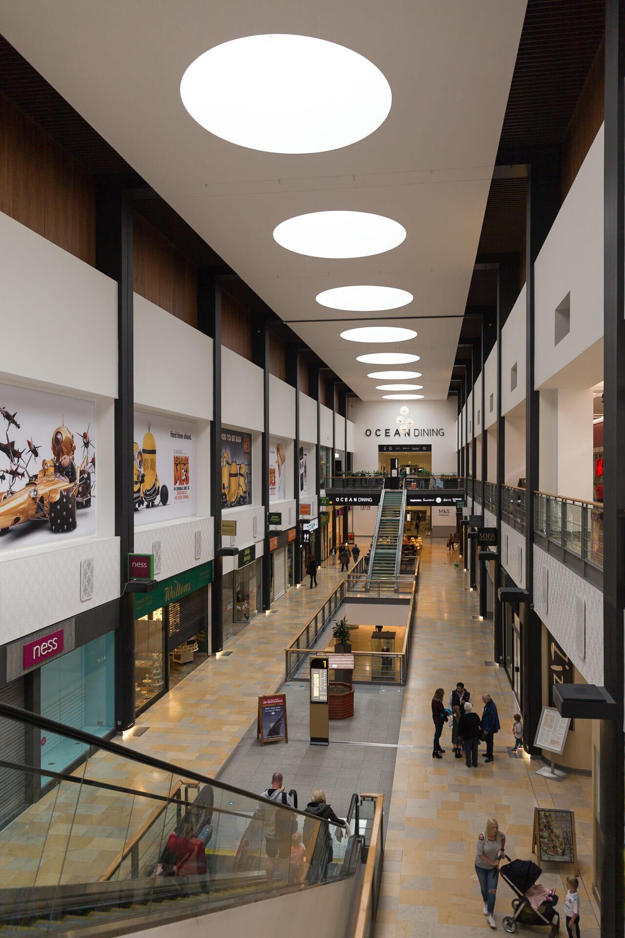 Einkaufszentrum Ocean-Terminal