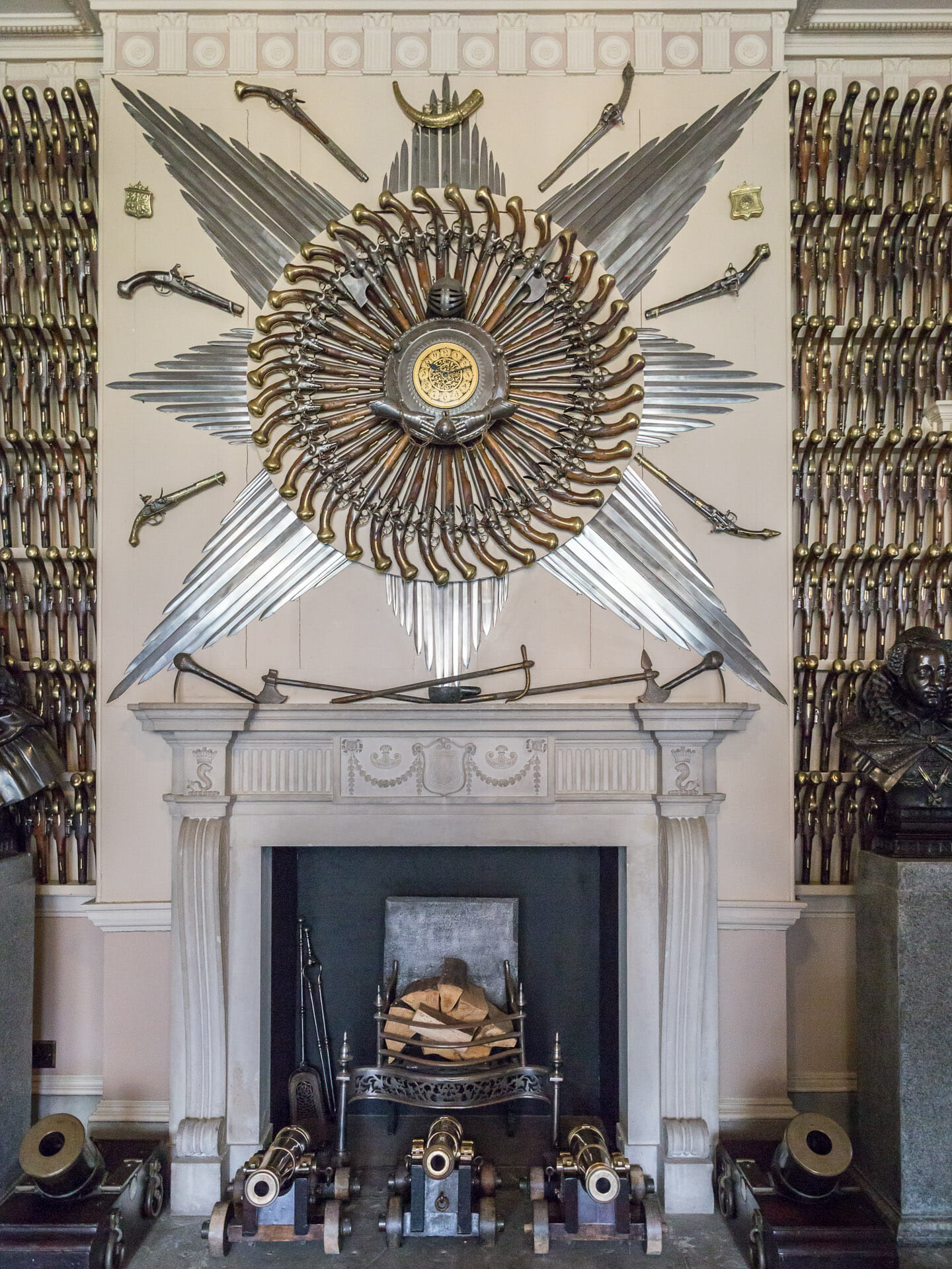 Waffen in der Culzean Castle