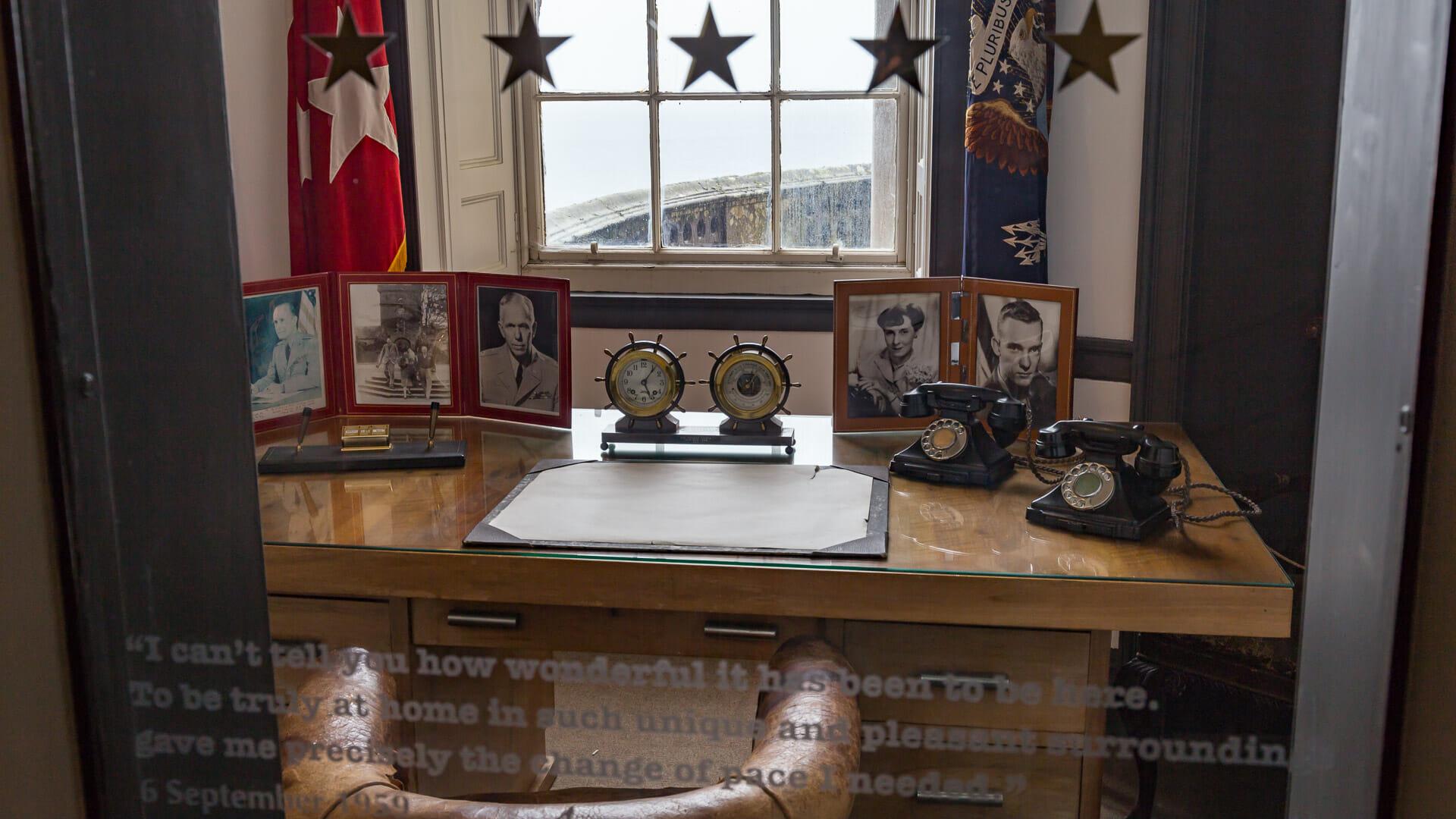 Eisenhowers Schreibtisch