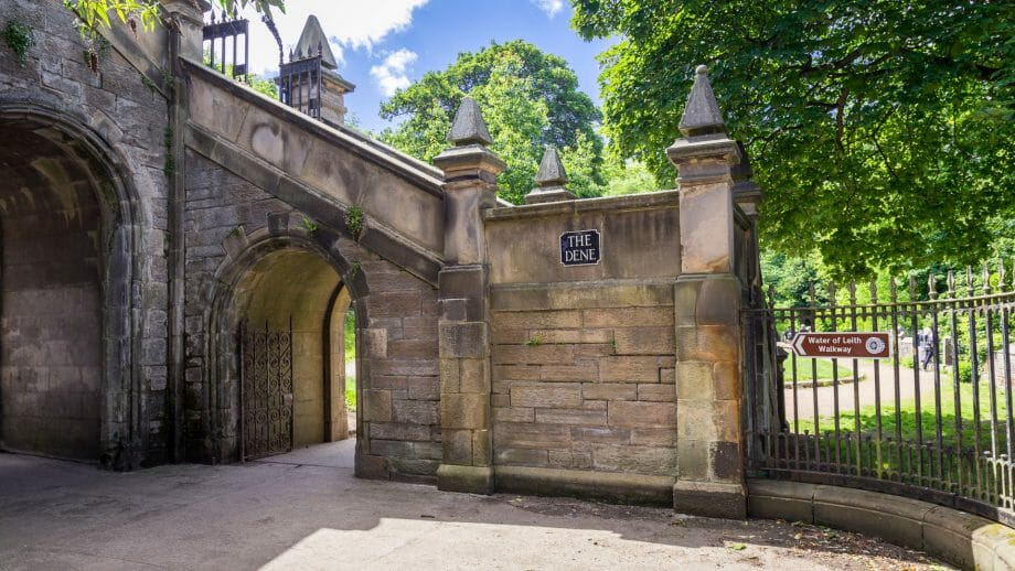 Eingang zu den Dean Gardens