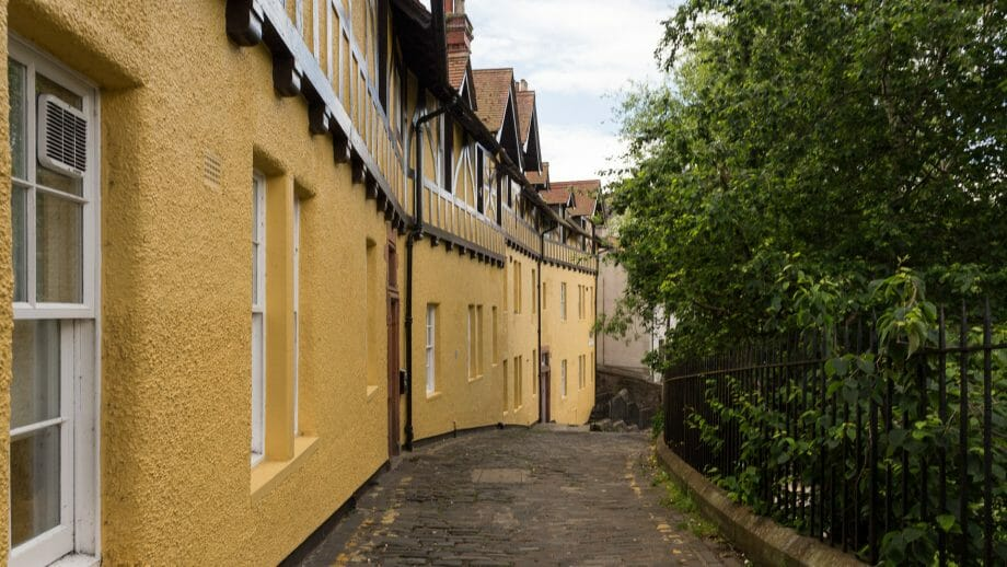 Häuser an der Hawthornebank