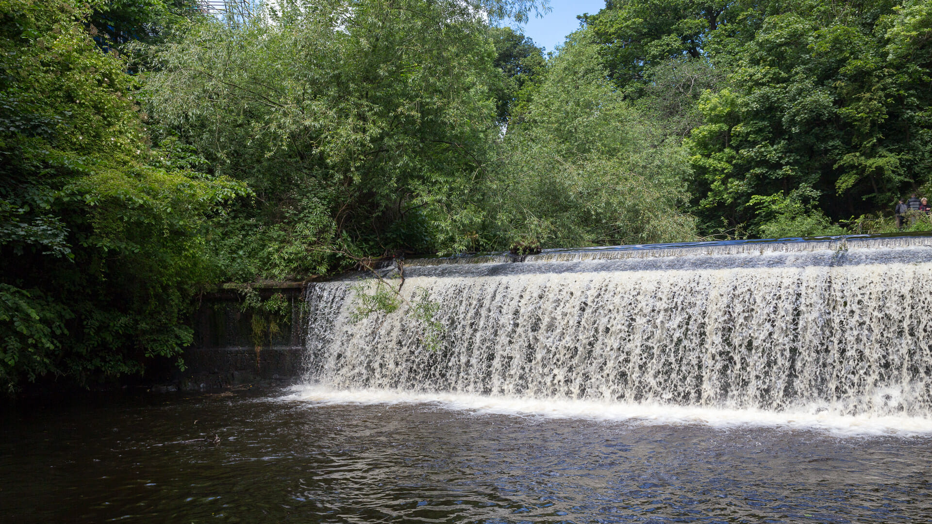 Wasserfall am Great Cauld des Leith