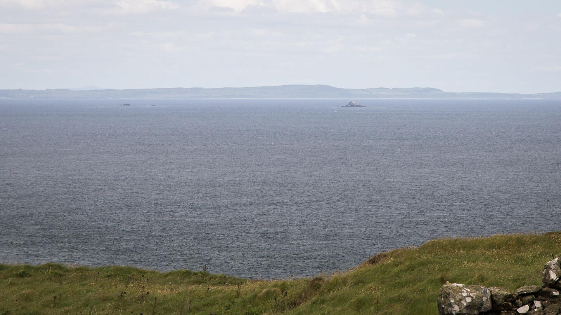 Luce Bay und die Scar Rocks