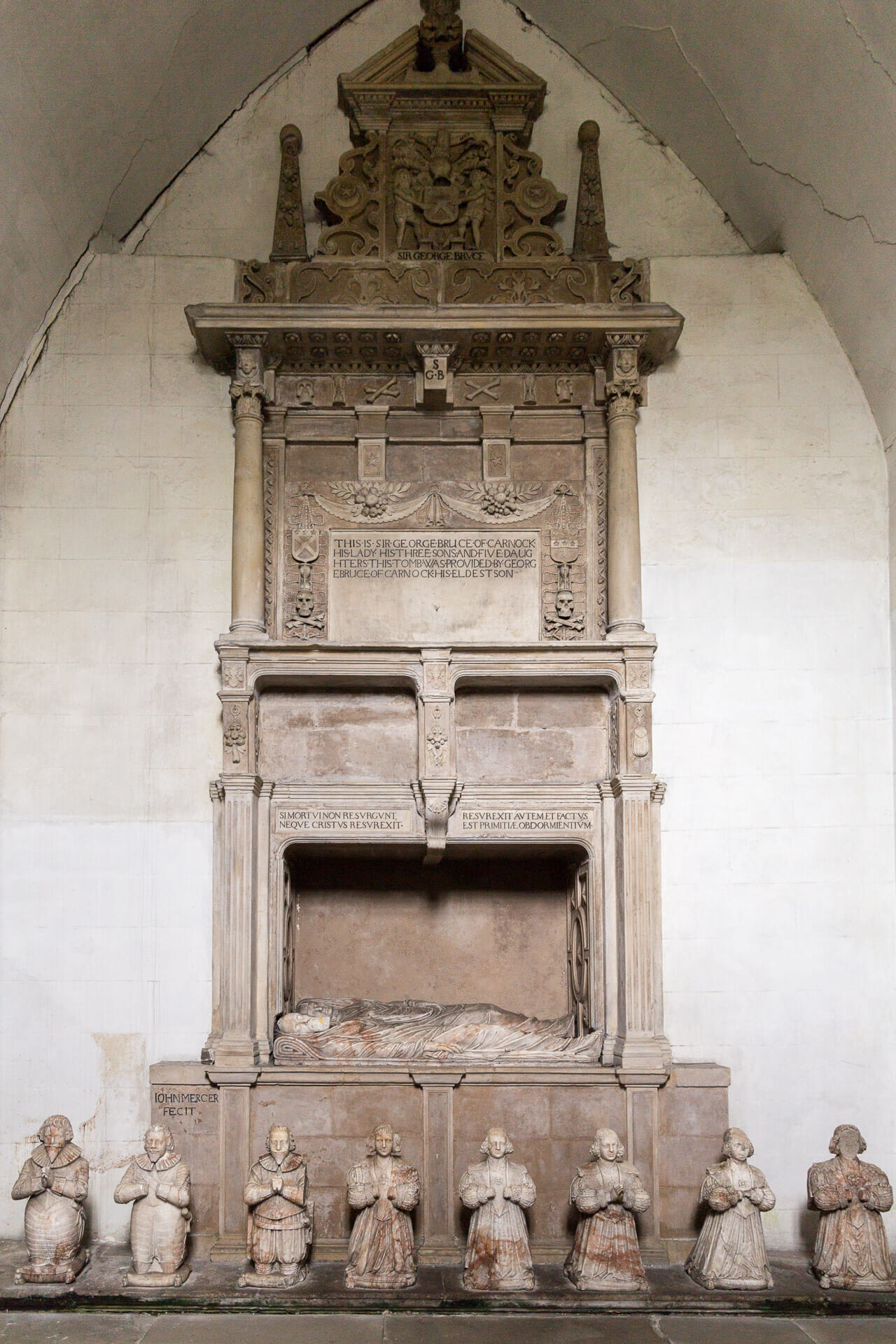 Grabmal für Sir George Bruce