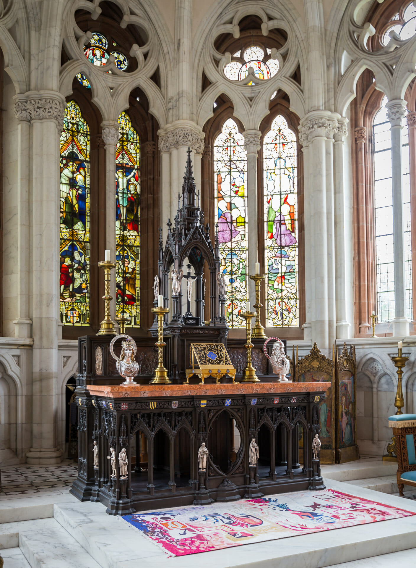 Altar in der Kapelle