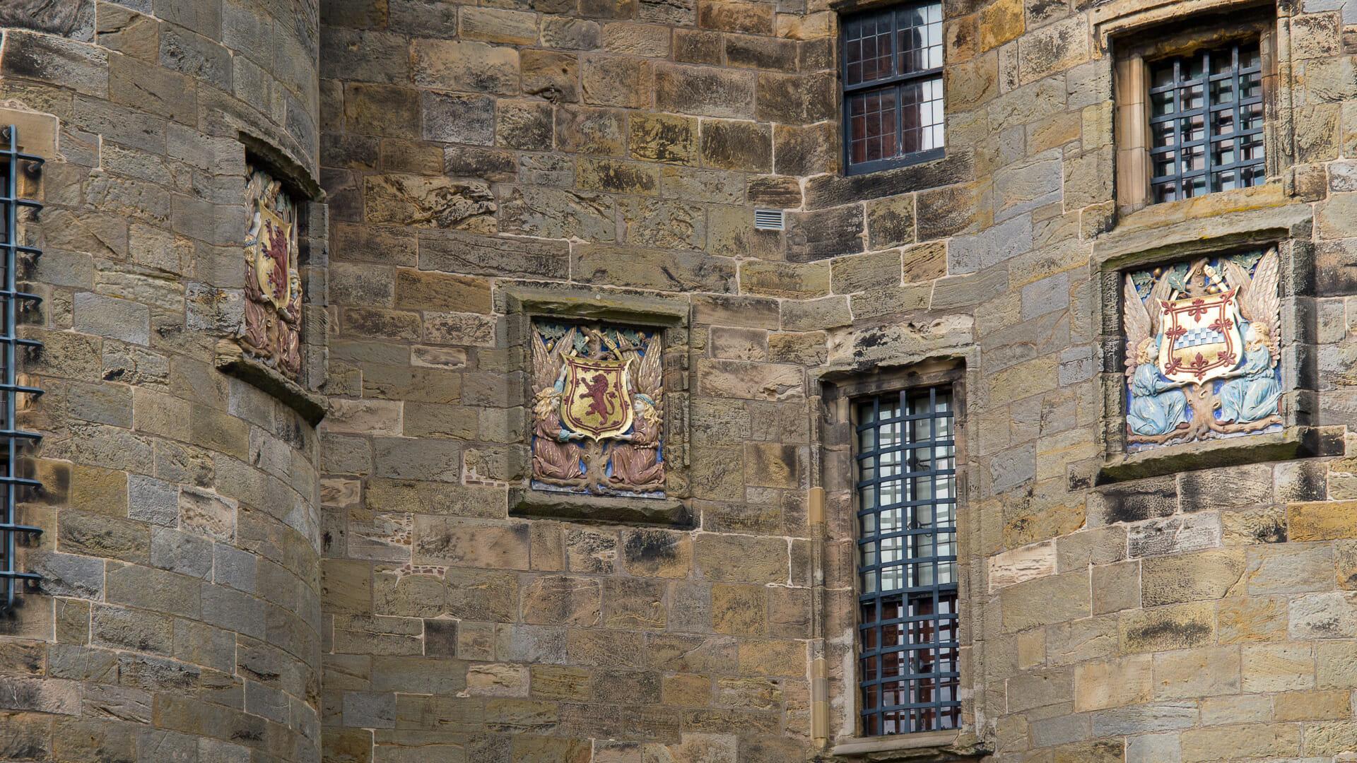 Wappen am Palast