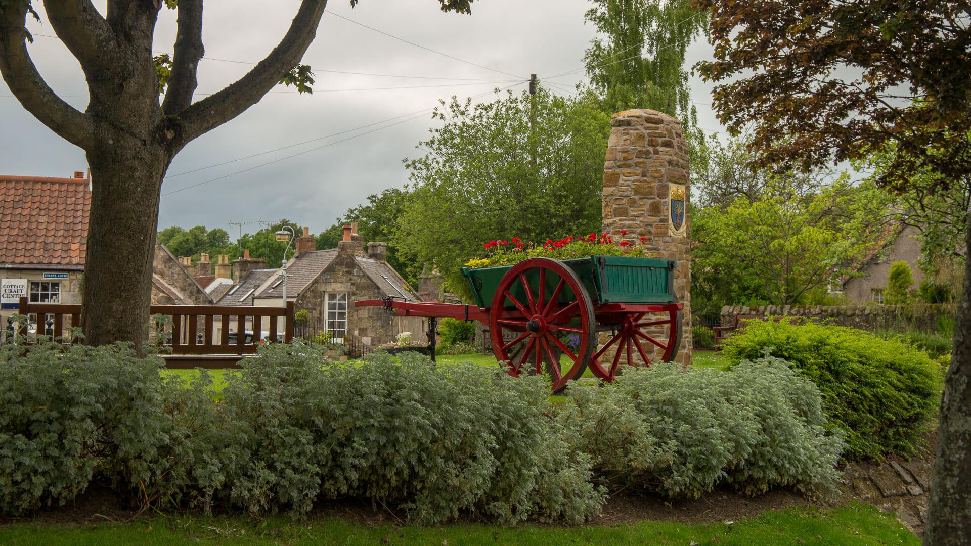 Ein Park an der Brunton Street