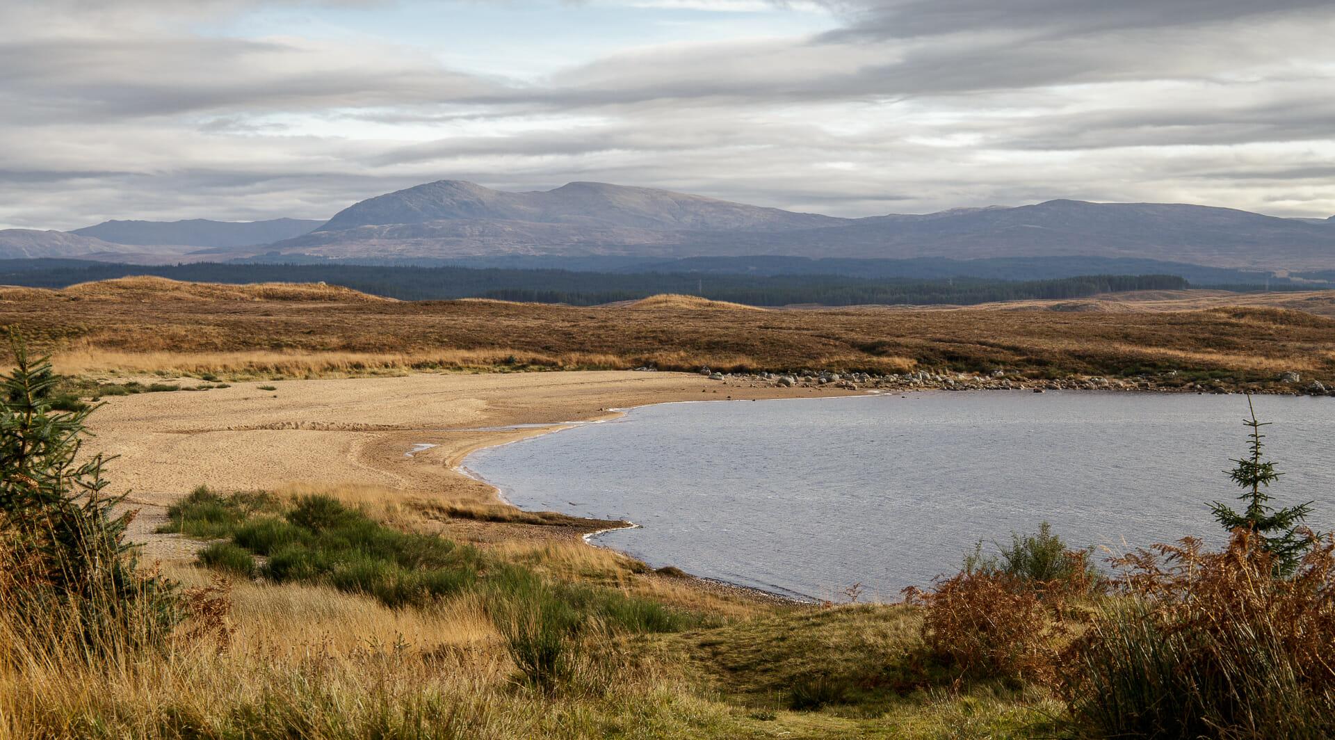 Loch Laidon vom Weg aus gesehen