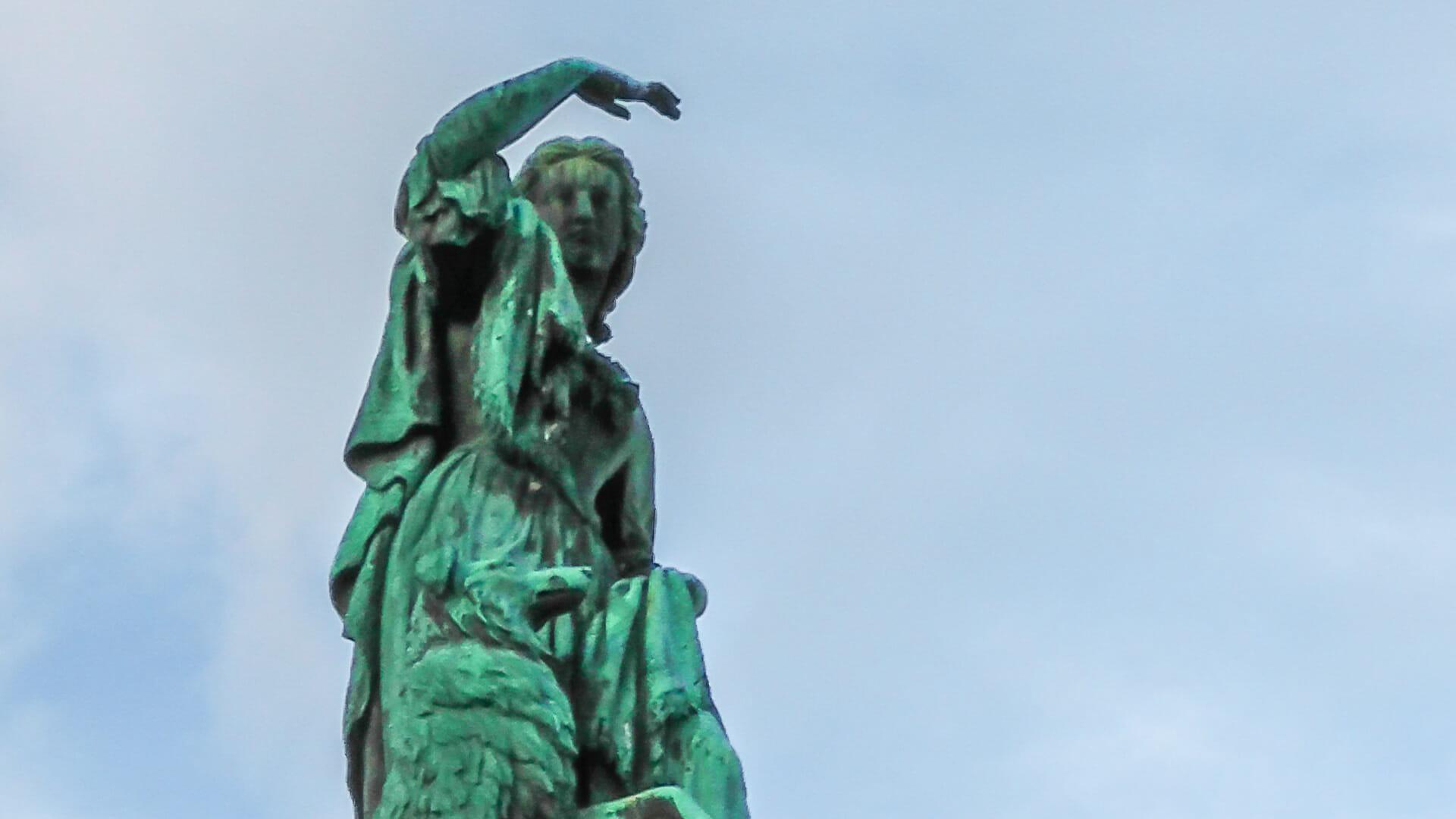 Flora MacDonald Statue Inverness