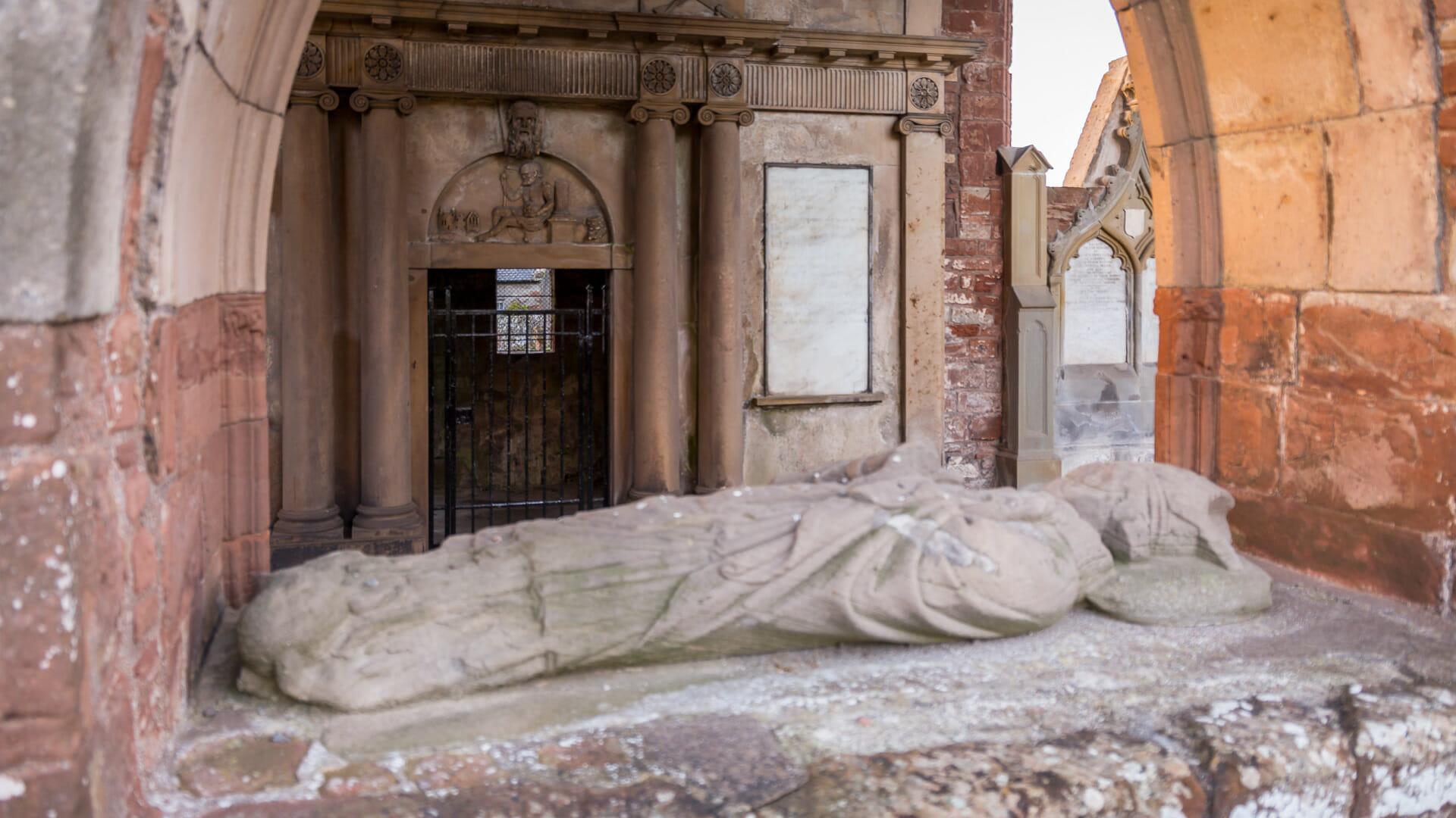 Das Grab von Euphemia
