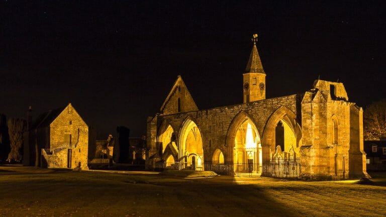 Fortrose Cathedral nachts