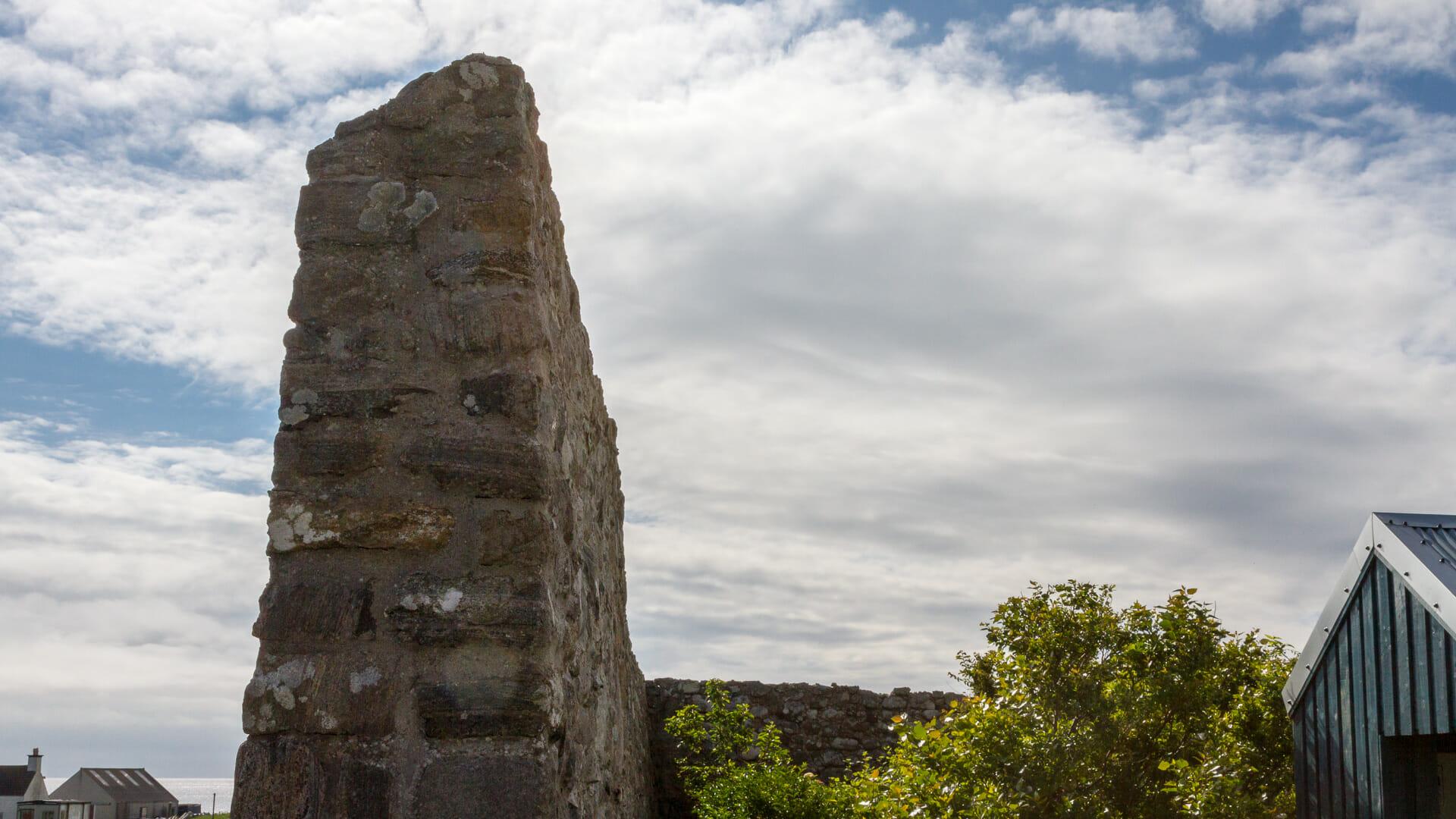 Die Mauern bieten Schutz vor dem Wind - (Foto: Martin Goldmann)