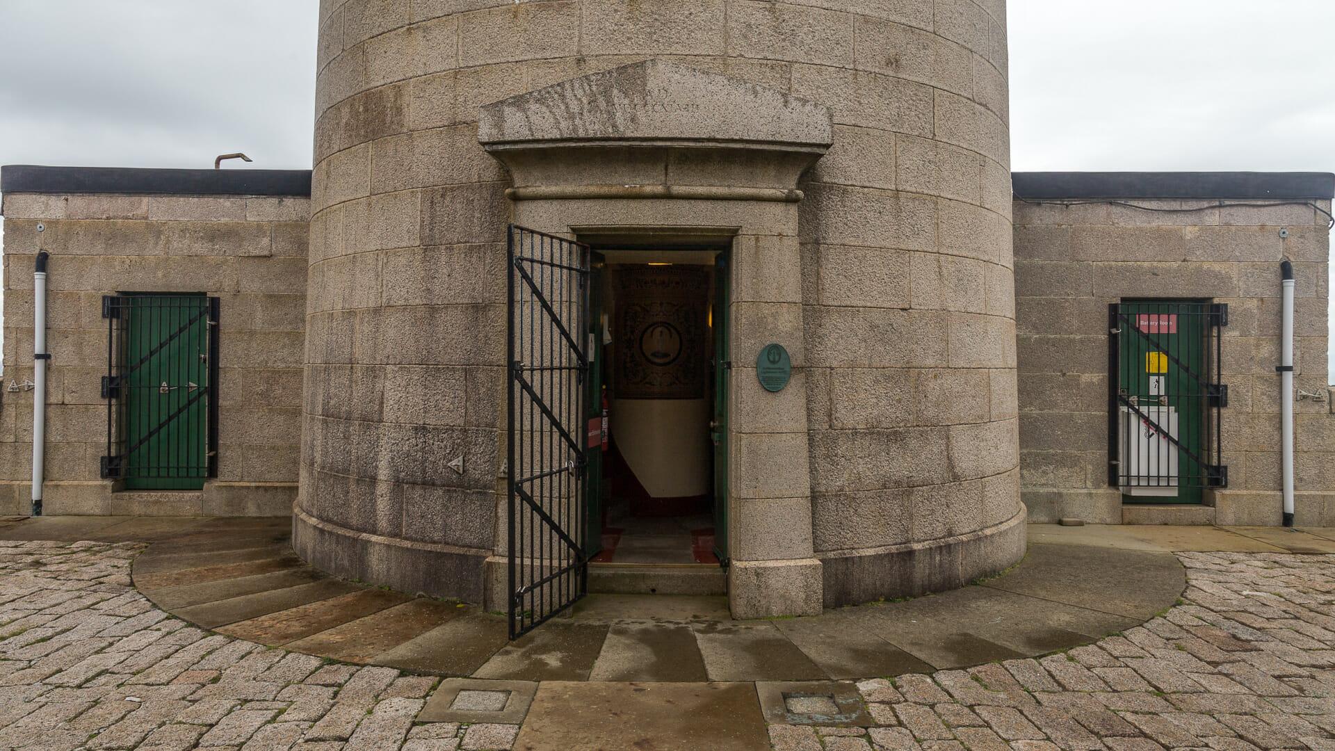 Eingang zum Leuchtturm