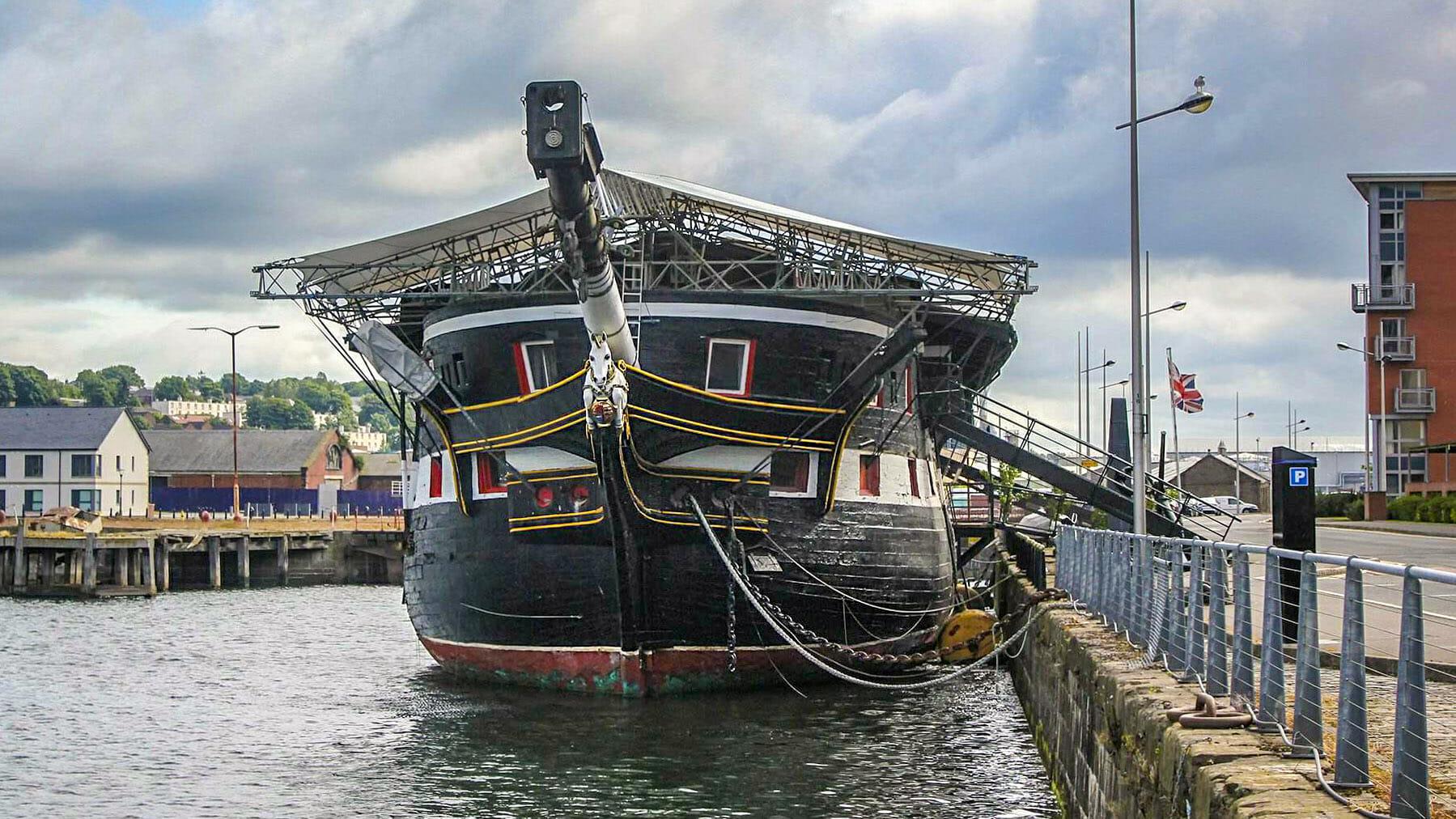 HMS Unicorn - (Foto: Jasmin Gerisch)
