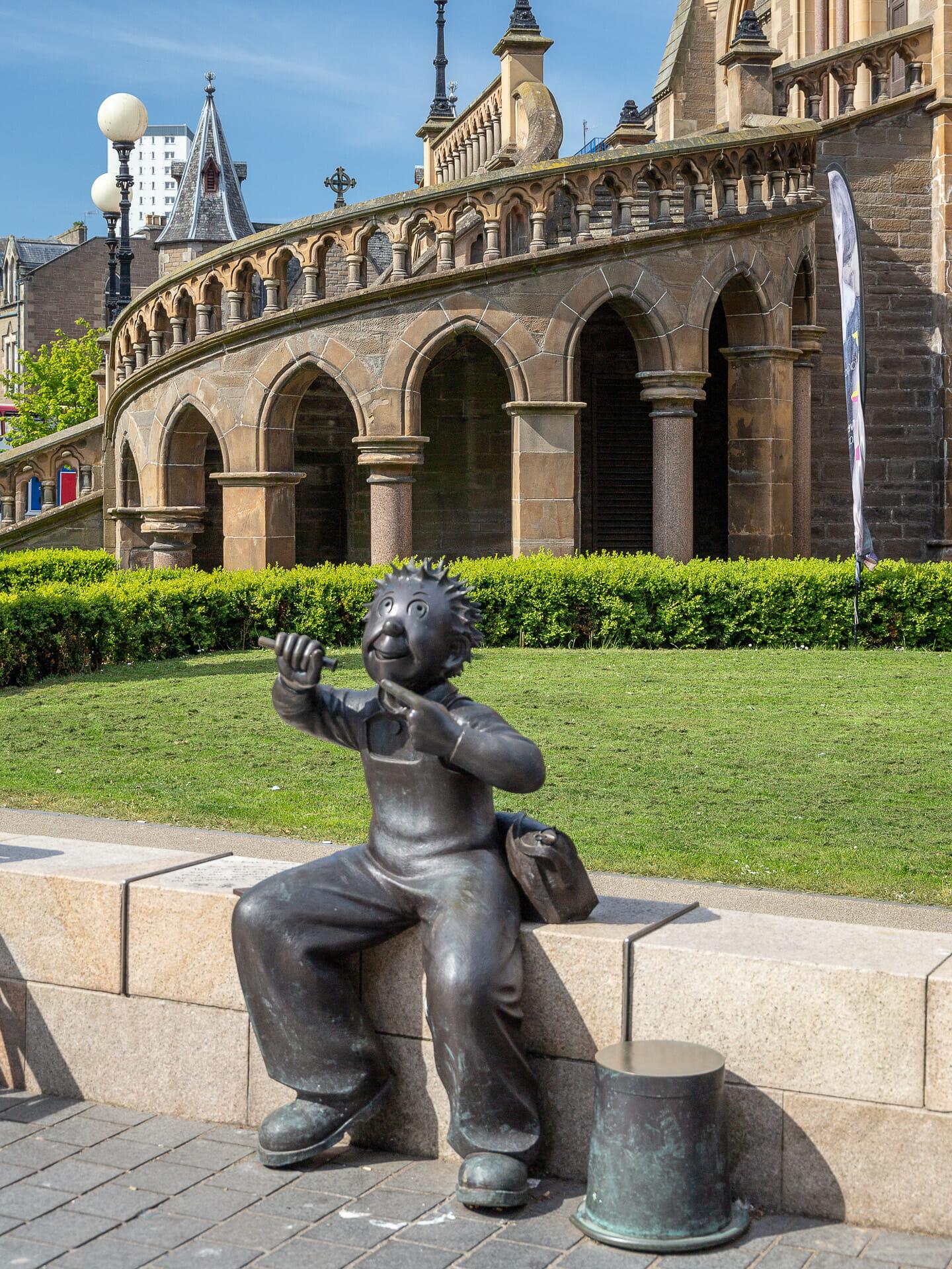Oor Wullie-Statue