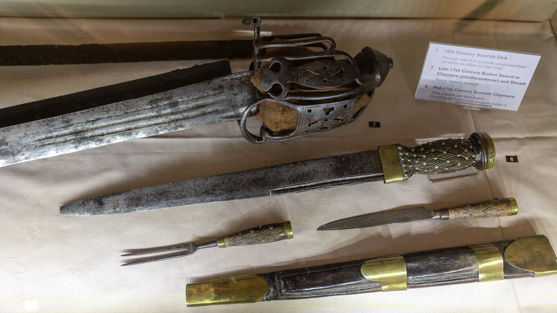 Waffen aus dem 17. Jahrhundert