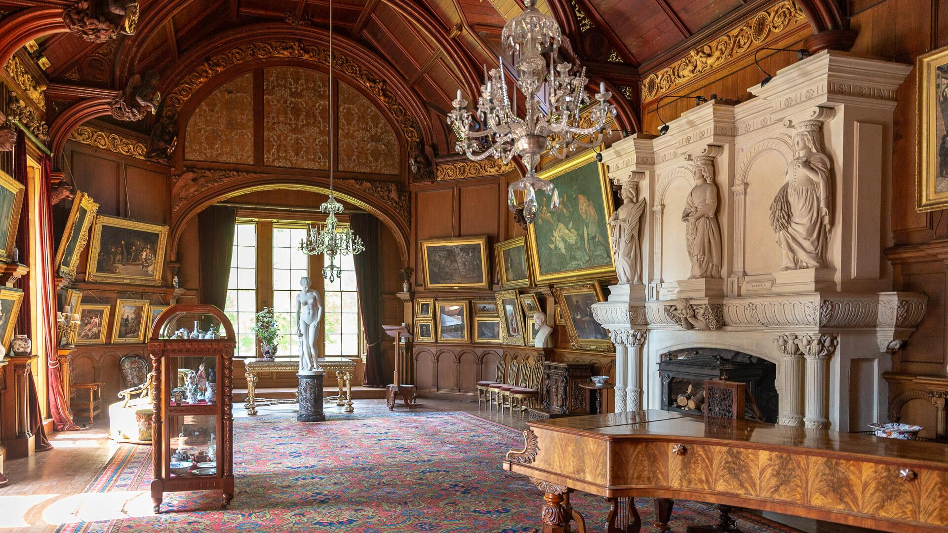 Galerie auf dem ersten Stock des Hospitalfield House