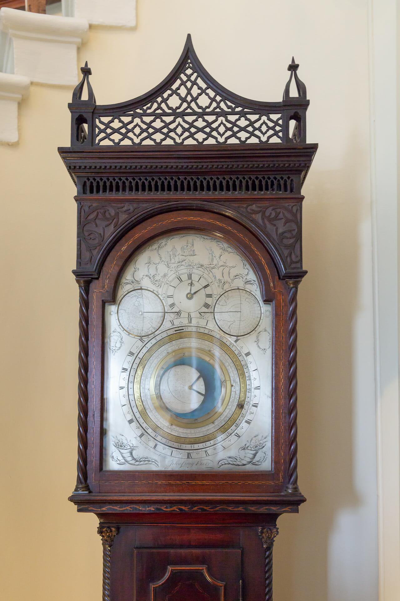 Die astronomische Uhr im Gang