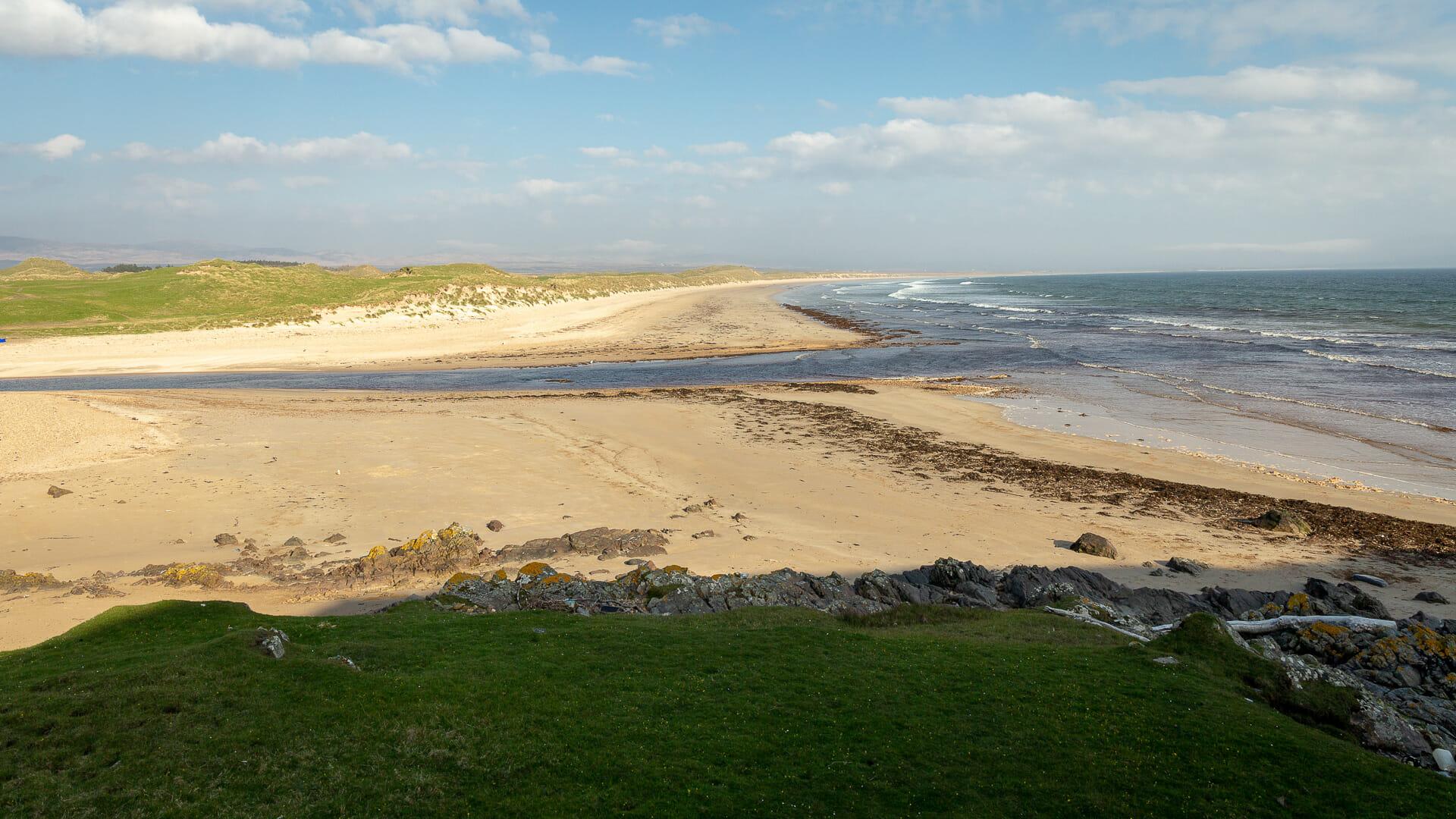 Cruach Mhòr - der große Strand