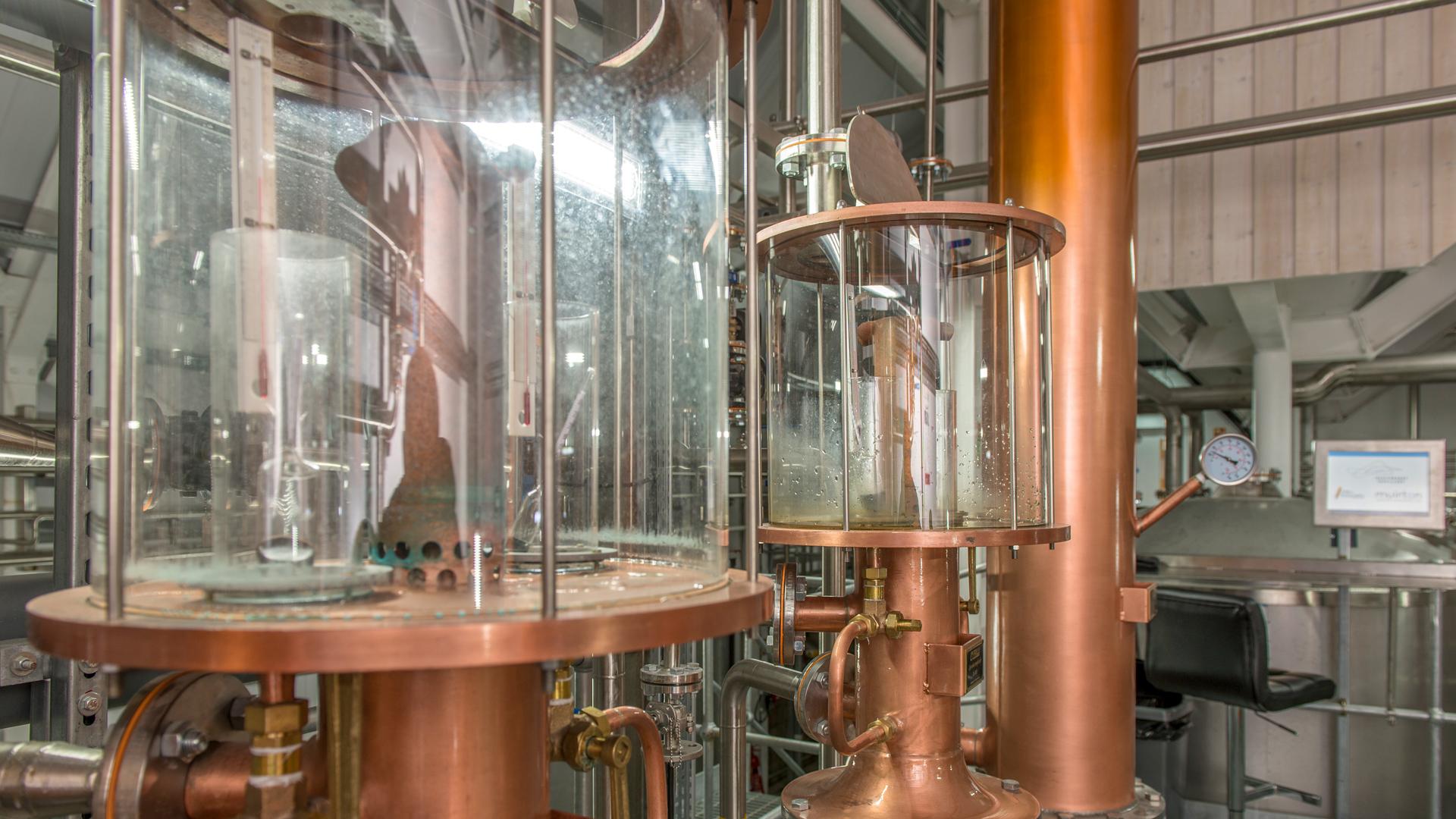 Spirit safe der Raasay Distillery - (Foto: R&B Distillers)