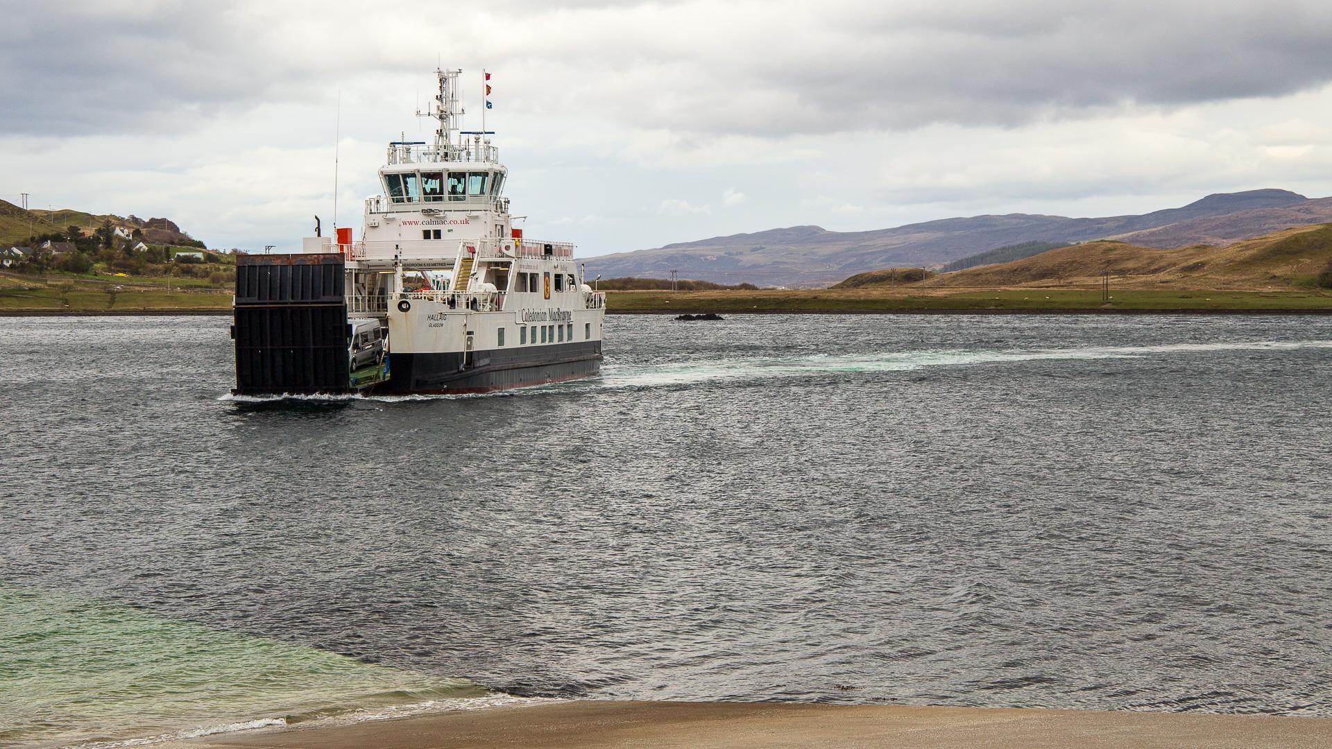 Fähre von Skye nach Raasay