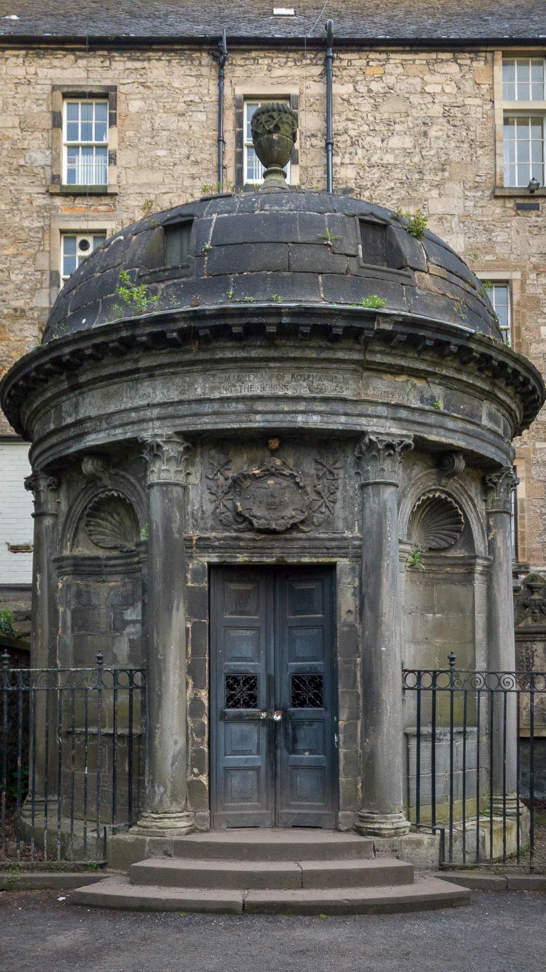 Mausoleum von Sir George Mackenzie
