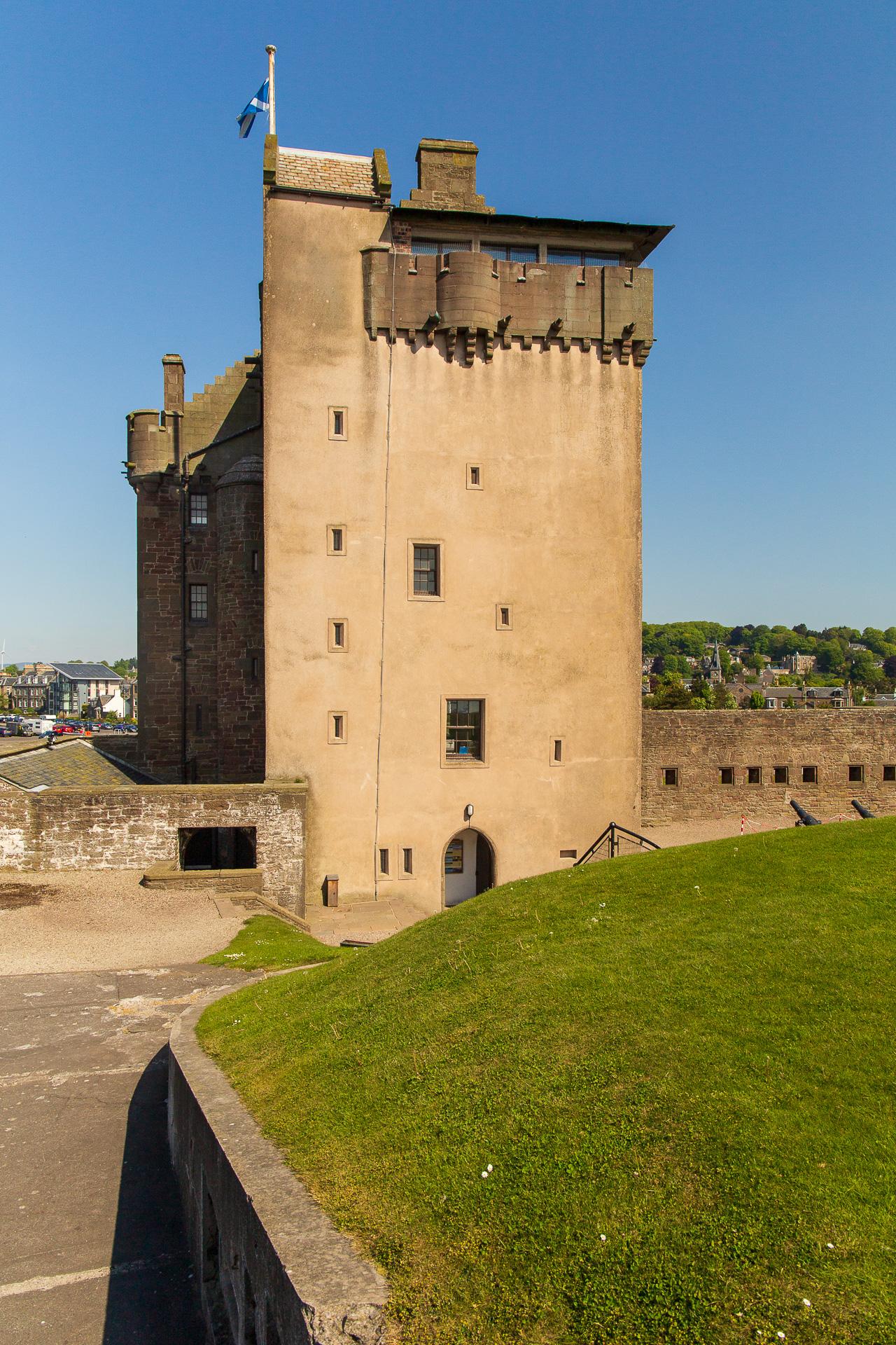 Ein typisches Towerhouse