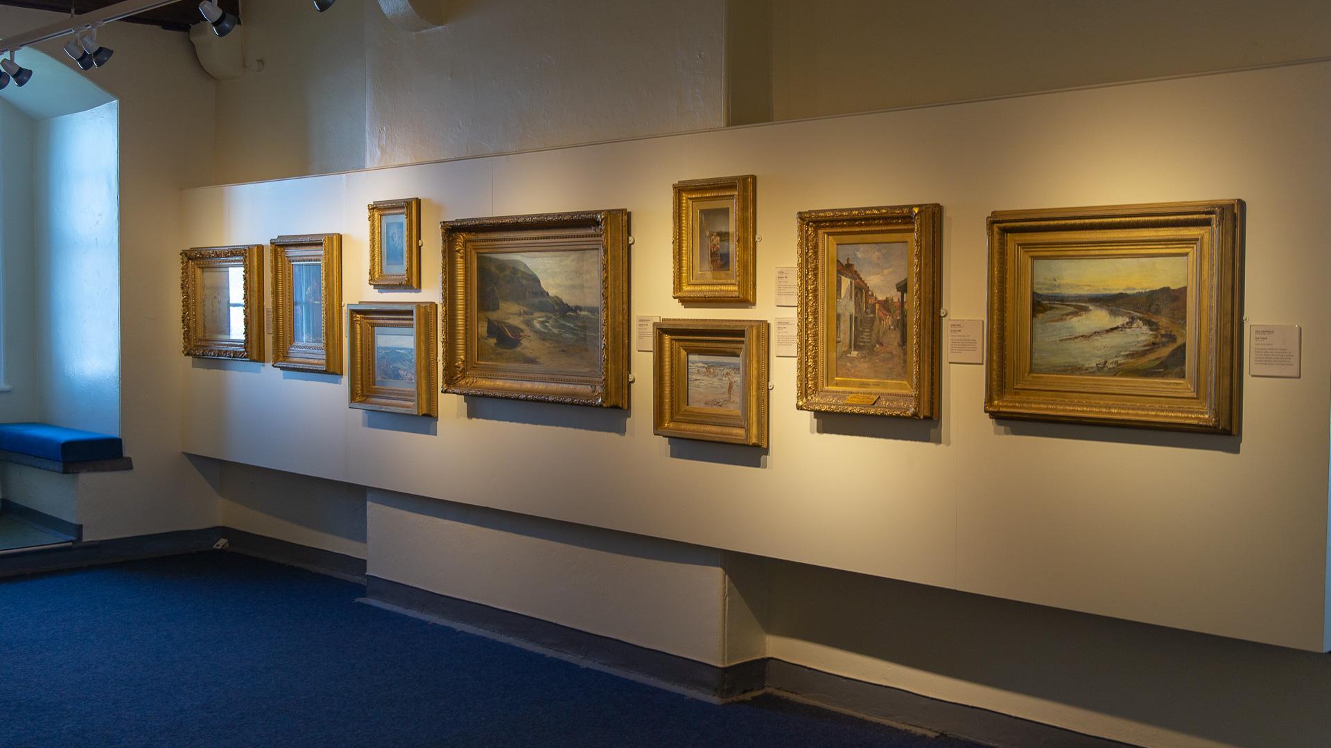 Kunstausstellung in der Broughty Castle