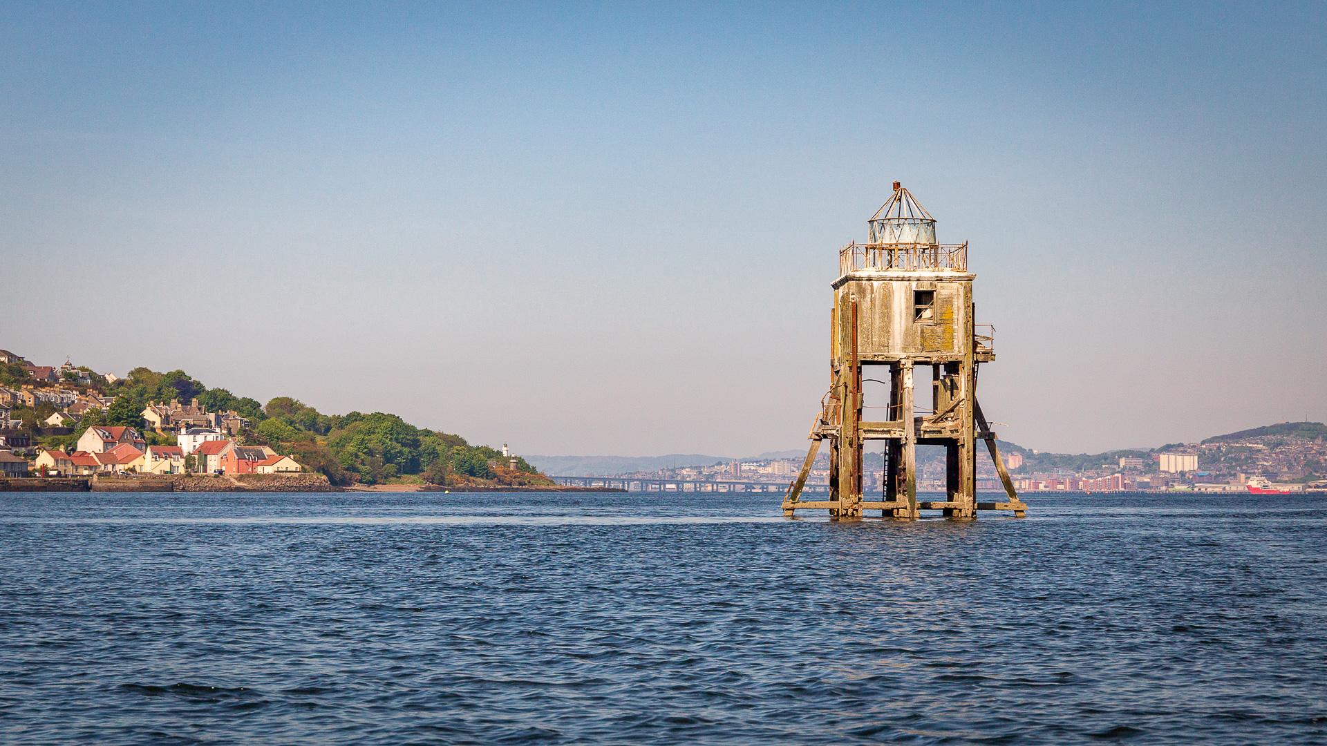 Auf dem Firth of Tay
