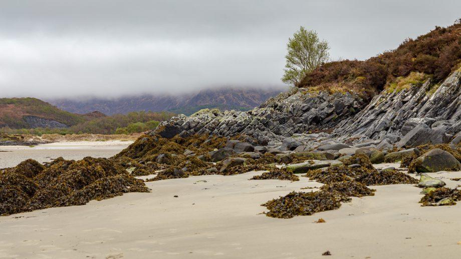 Ein Teil der Morar Silver Beaches