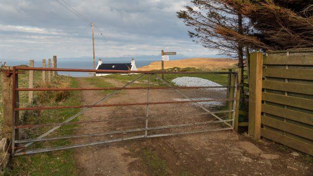 Das Tor zum Wanderweg