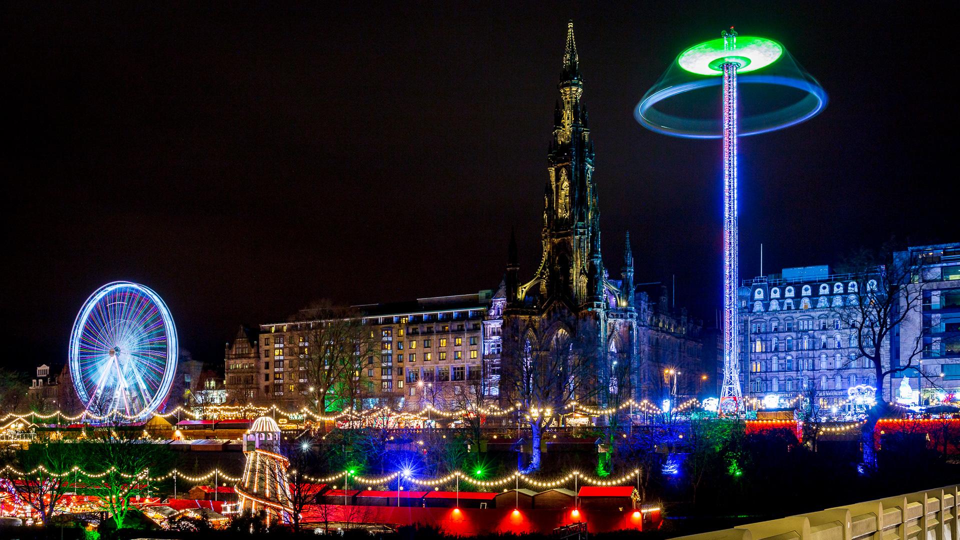 Edinburgh Weihnachtsmarkt