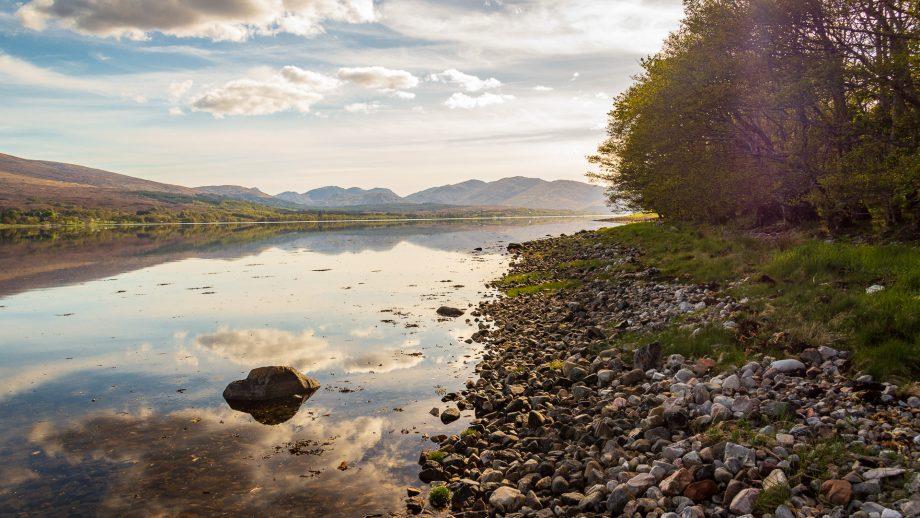 Am Ufer des Loch Eil