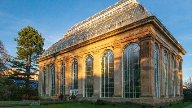 Das viktorianische Gewächshaus des Royal Botanic Garden Edinburgh