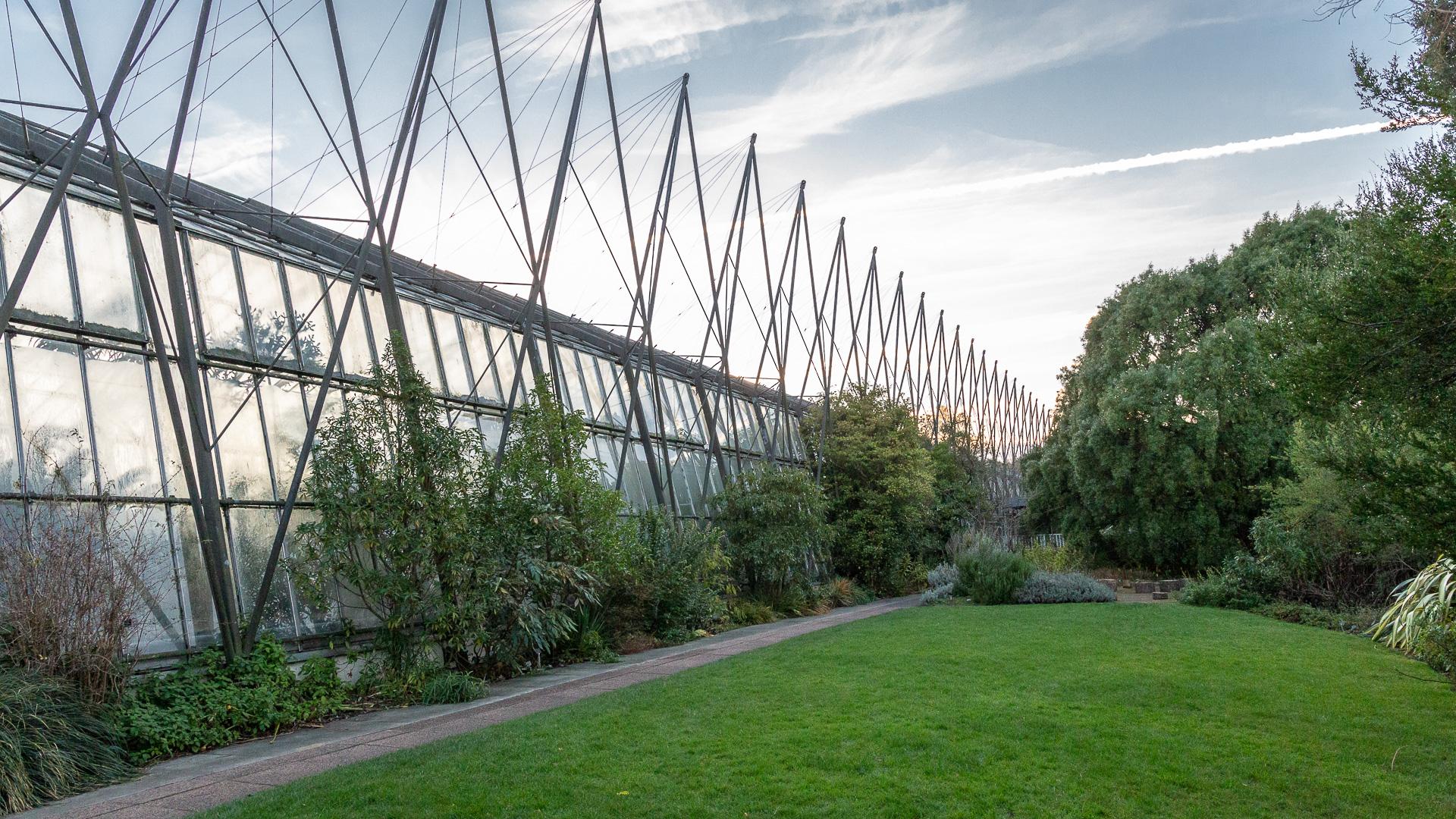Eines der Gewächshäuser des Royal Botanic Garden Edinburgh