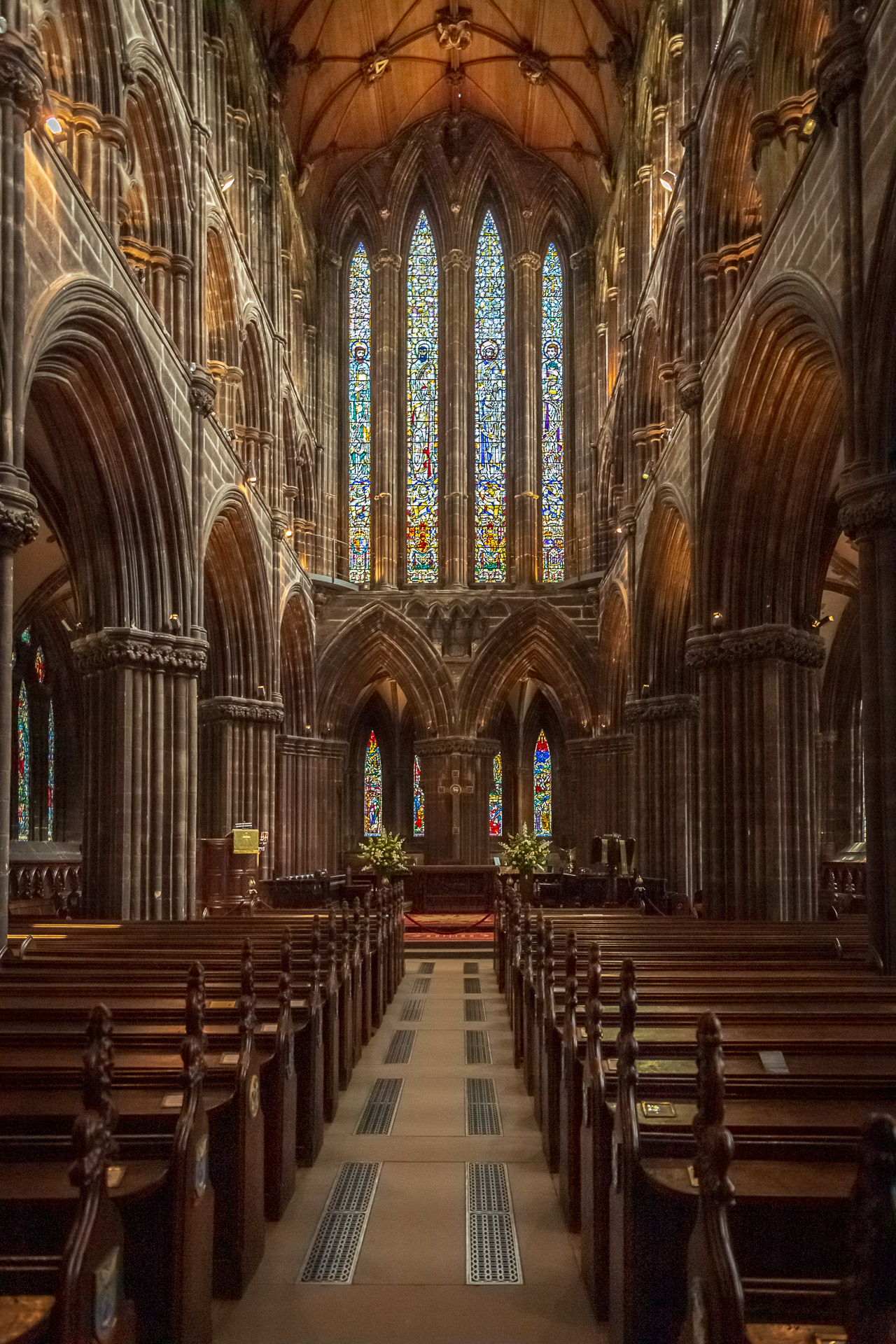 Altarraum der Glasgow Cathedral