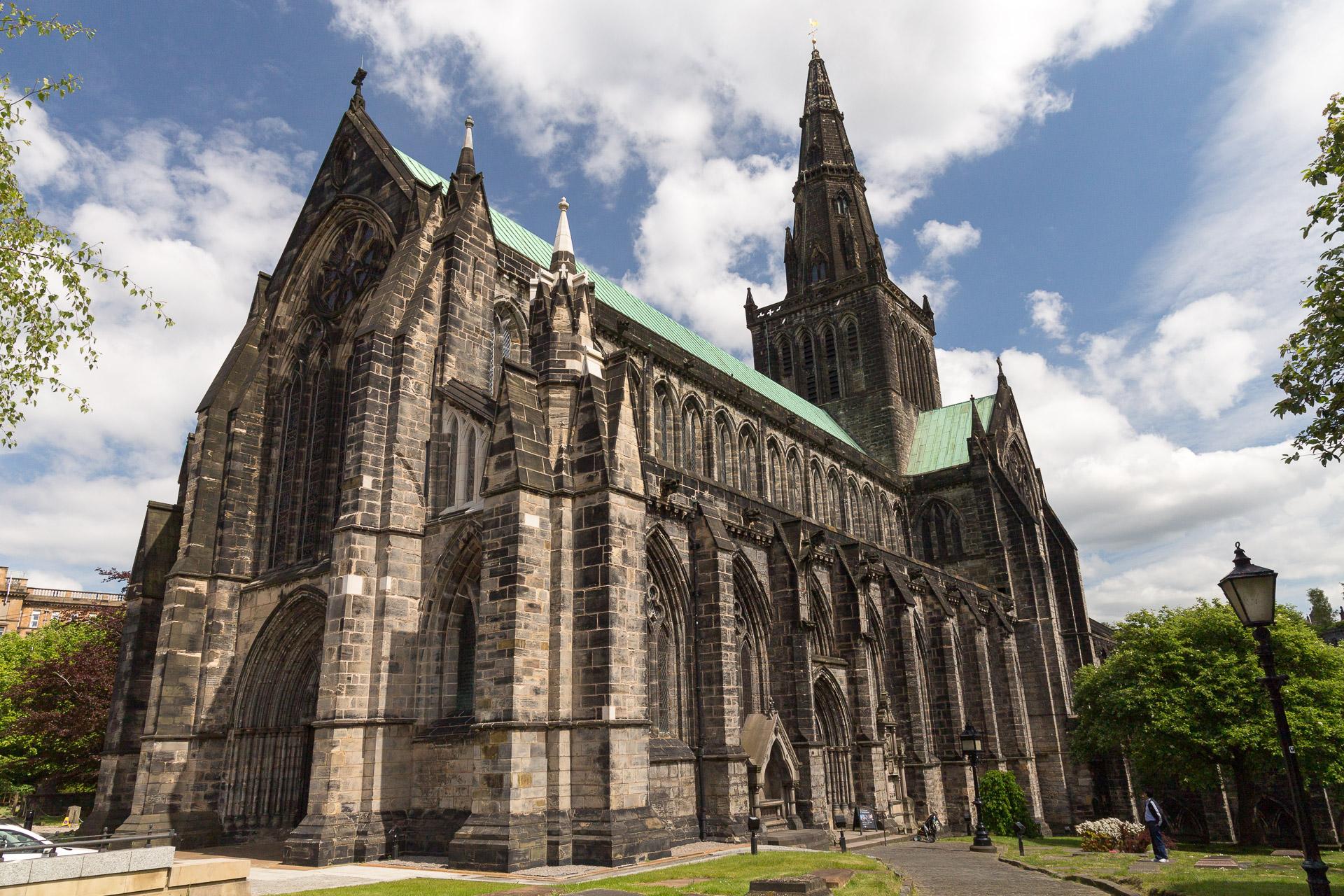 Glasgow Cathedral von außen