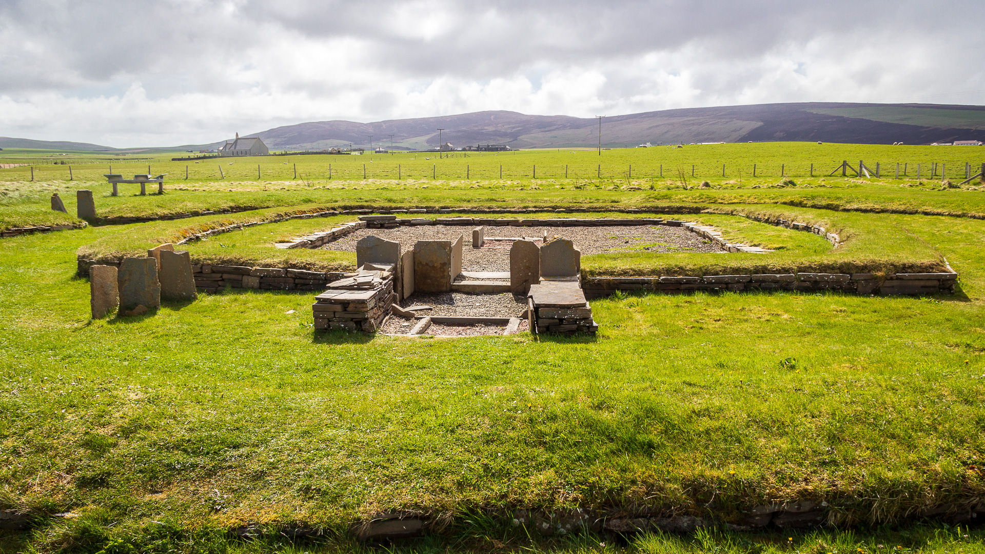 Ness of Brodgar Barnhouse Village