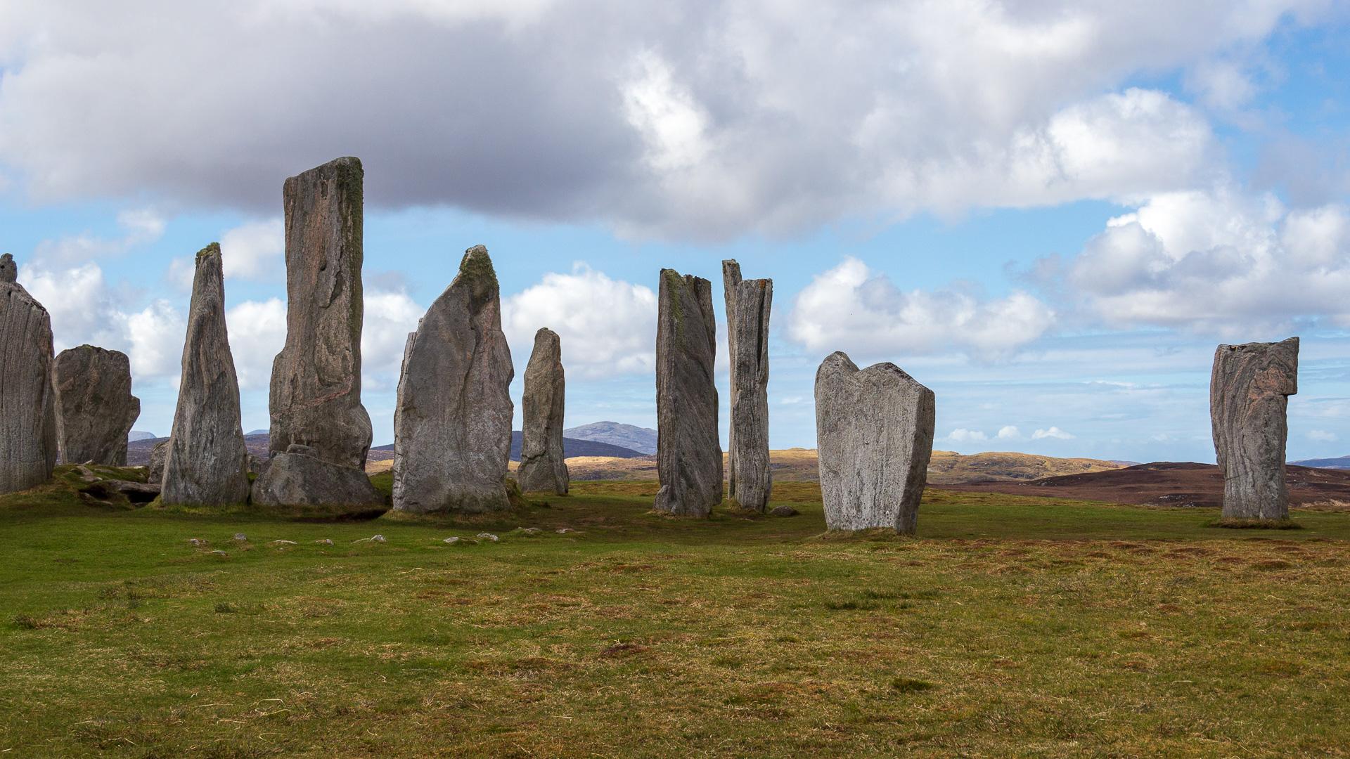 Steinkreise in Schottland