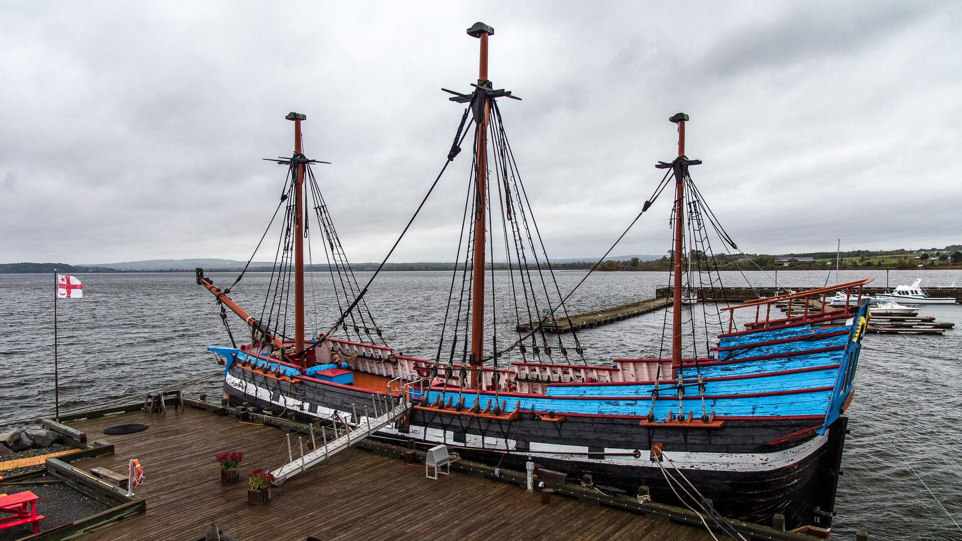 Das Schiff Hector in Pictou