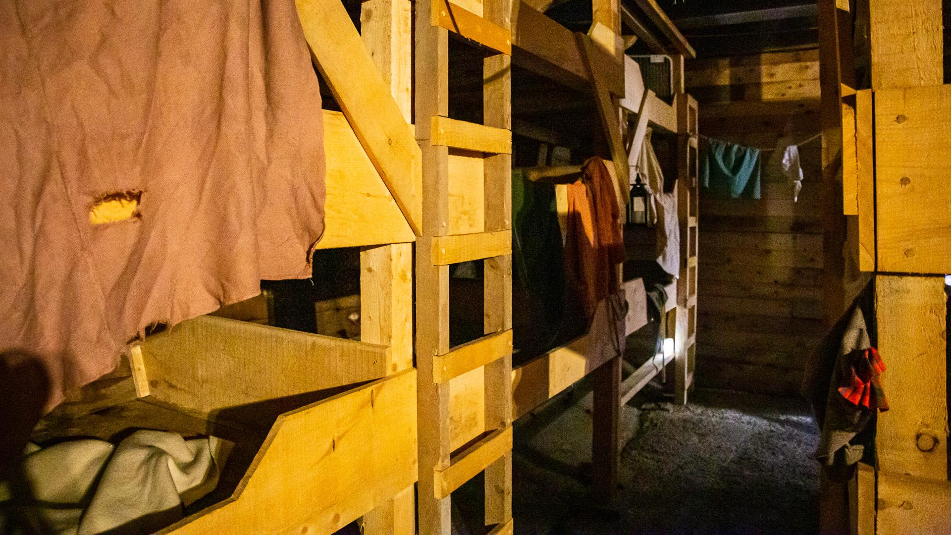 Unter Deck der Hector